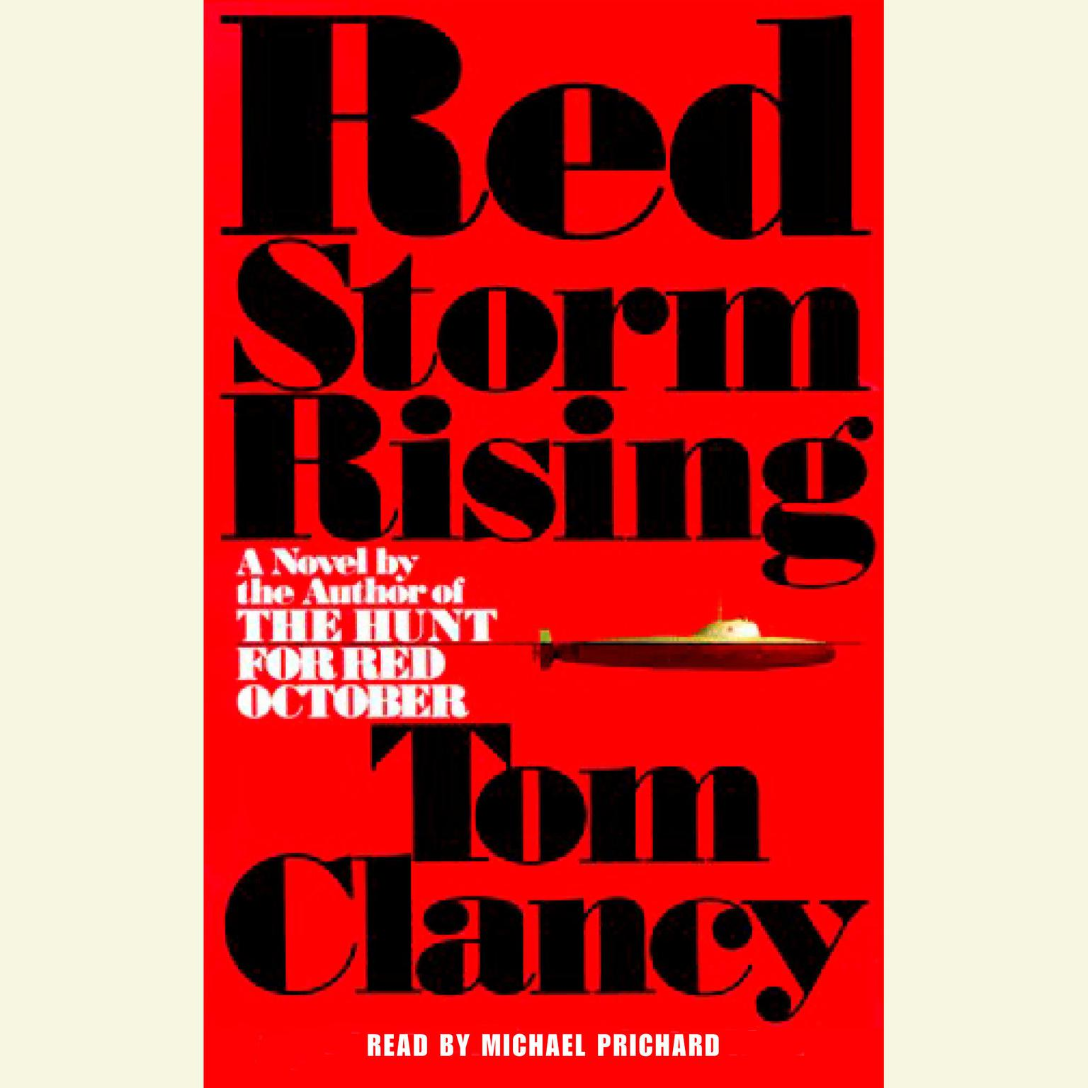 Printable Red Storm Rising Audiobook Cover Art
