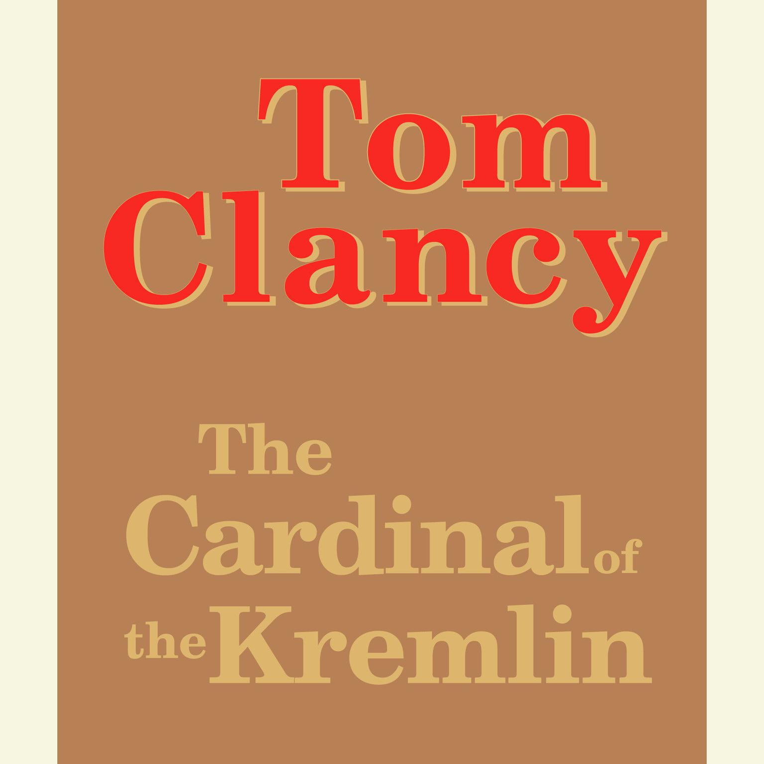 Printable The Cardinal of the Kremlin Audiobook Cover Art