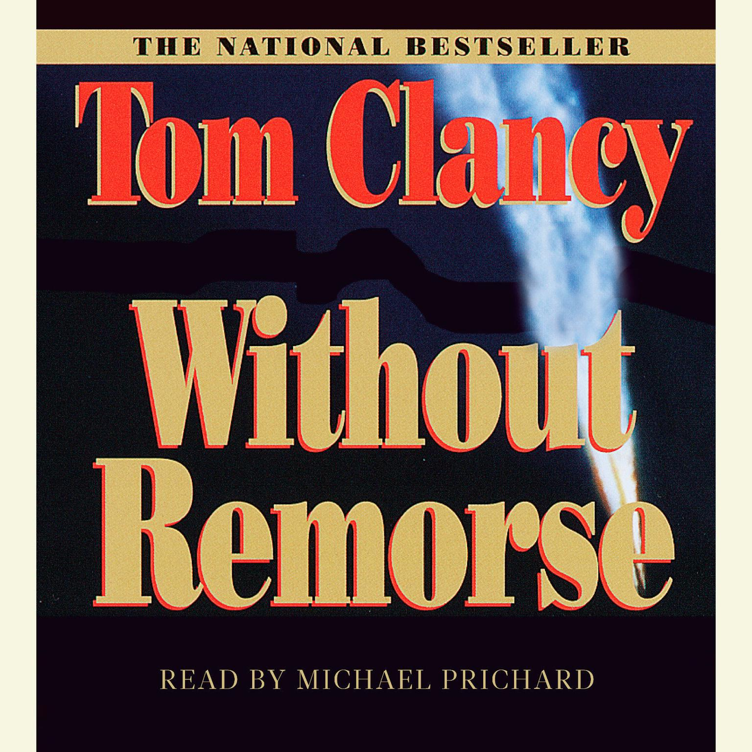 Printable Without Remorse Audiobook Cover Art