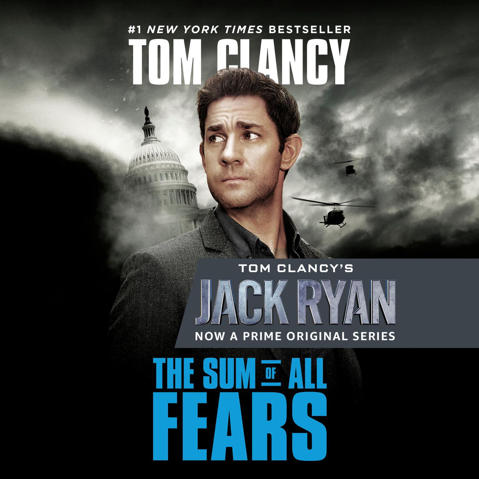 Printable The Sum of All Fears Audiobook Cover Art