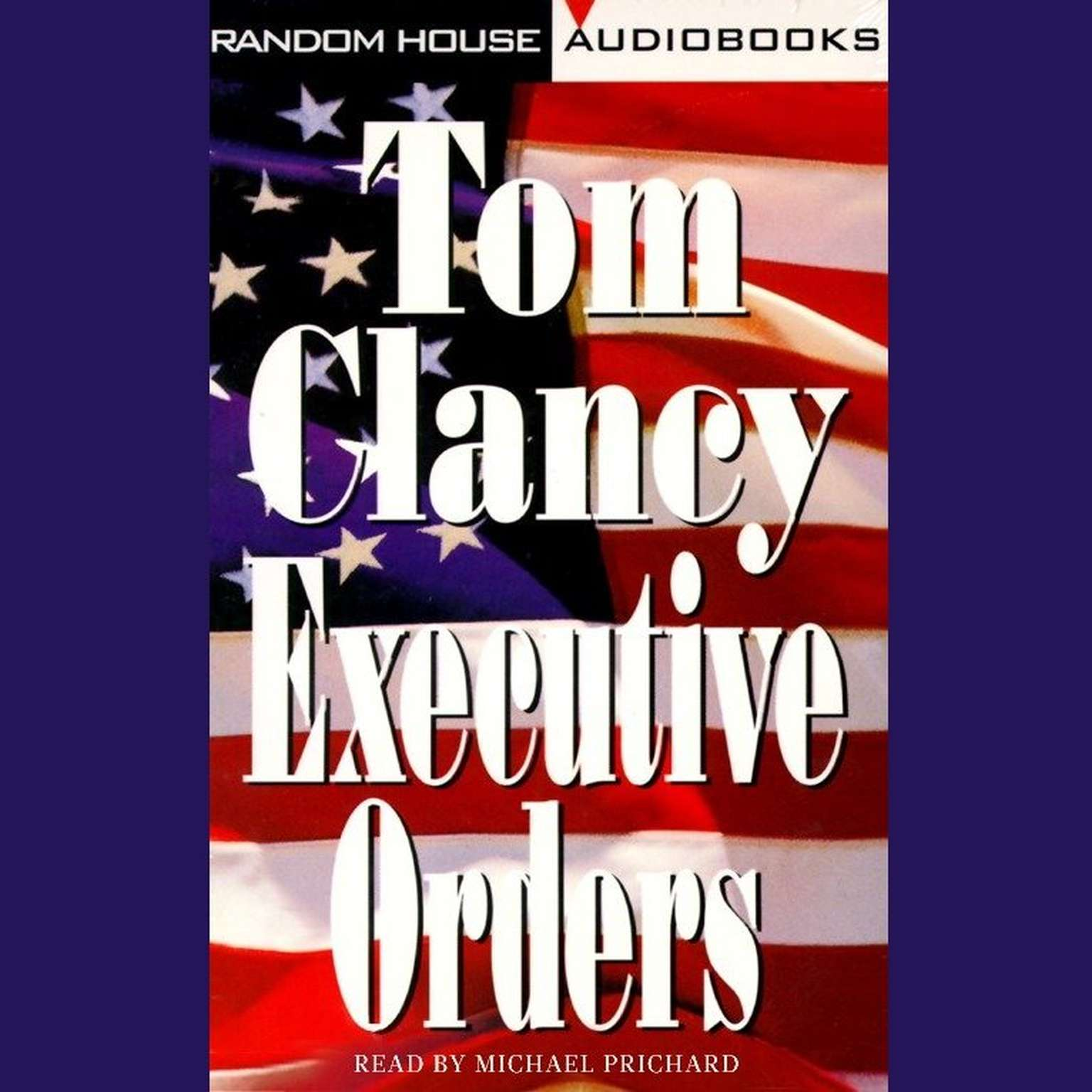 Printable Executive Orders Audiobook Cover Art