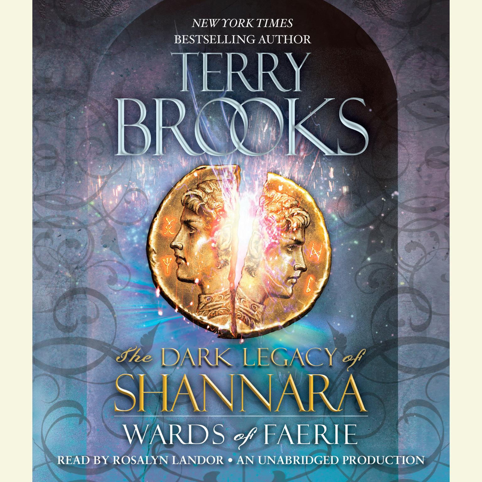 Printable Wards of Faerie: The Dark Legacy of Shannara Audiobook Cover Art