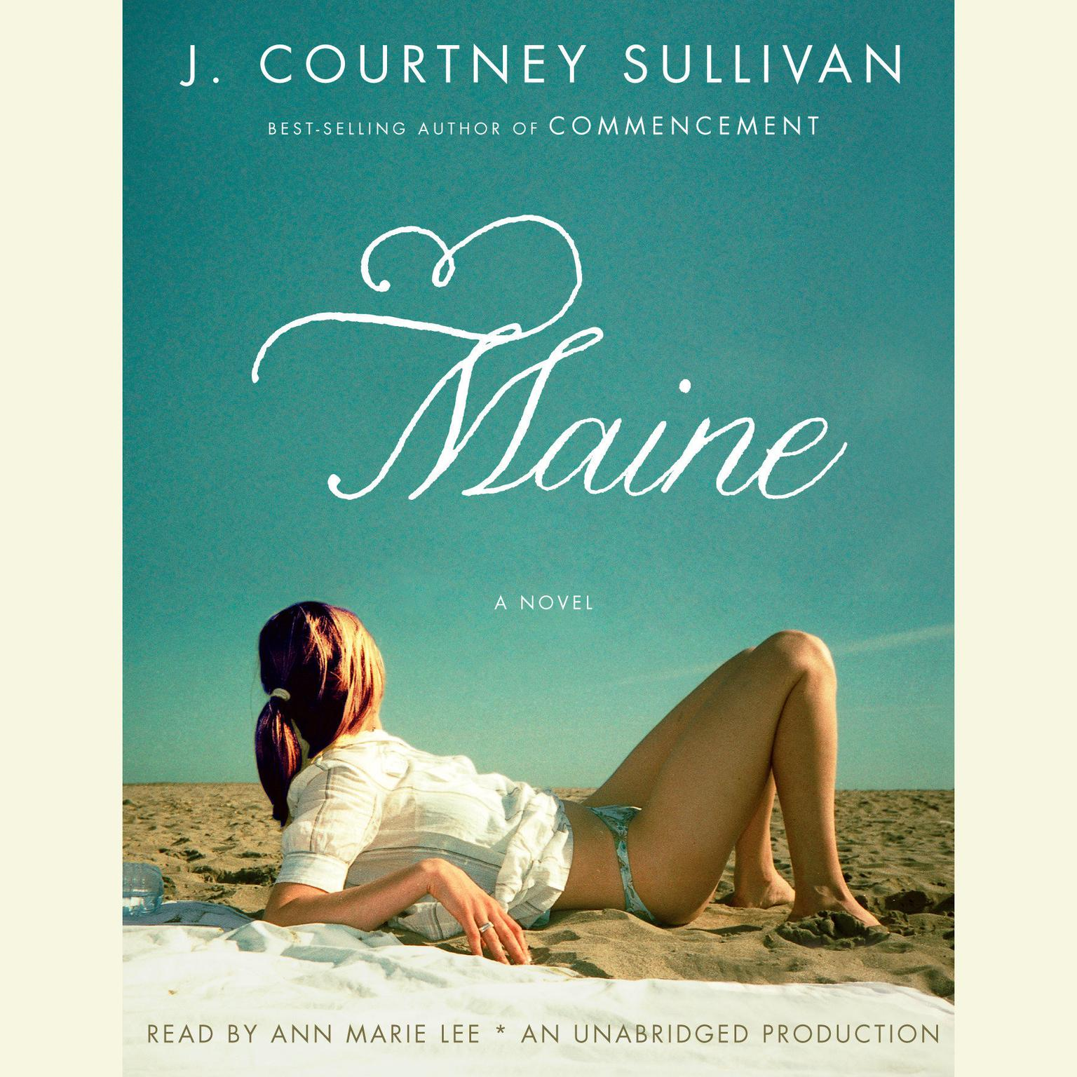 Printable Maine Audiobook Cover Art