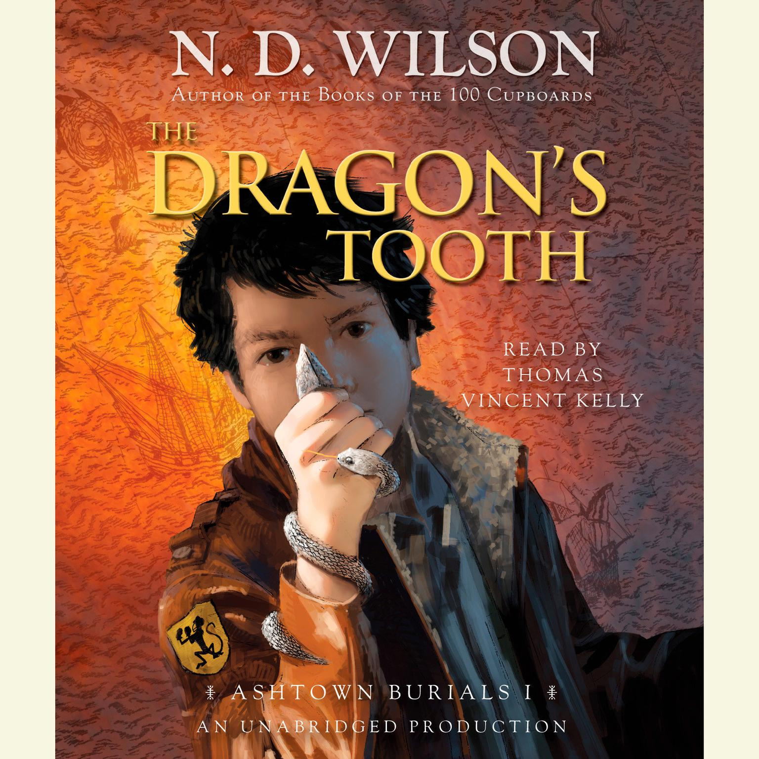 Printable The Dragon's Tooth: Ashtown Burials #1 Audiobook Cover Art