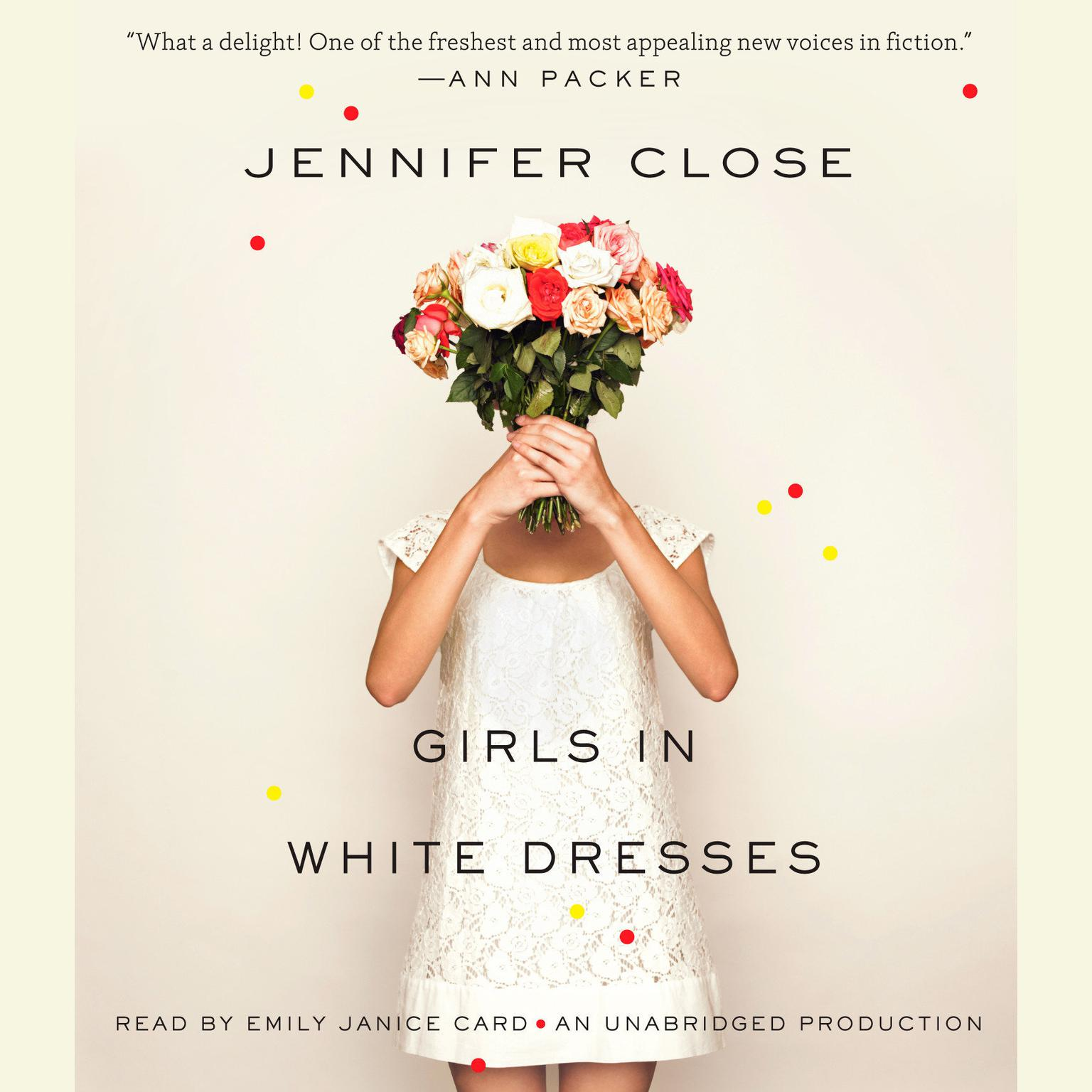 Printable Girls in White Dresses Audiobook Cover Art
