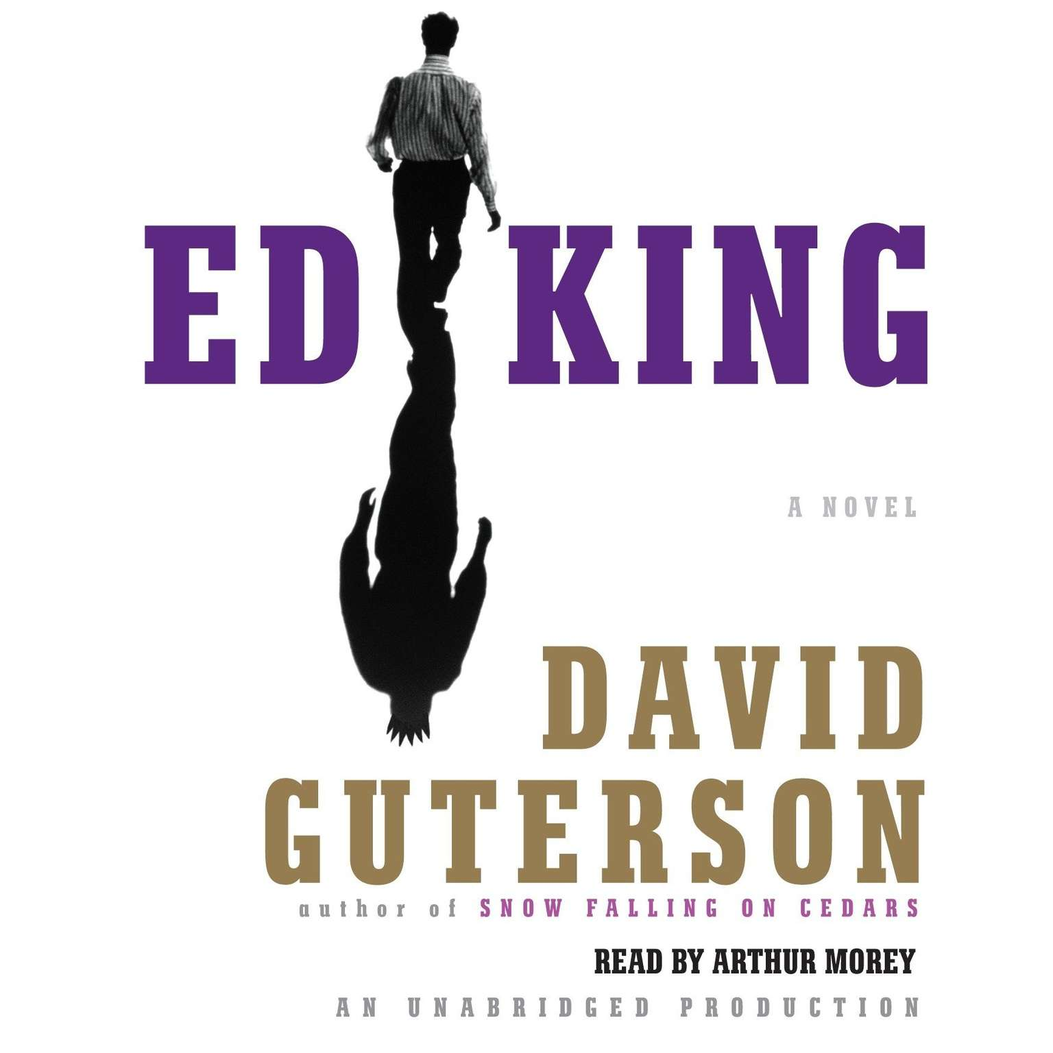 Printable Ed King Audiobook Cover Art