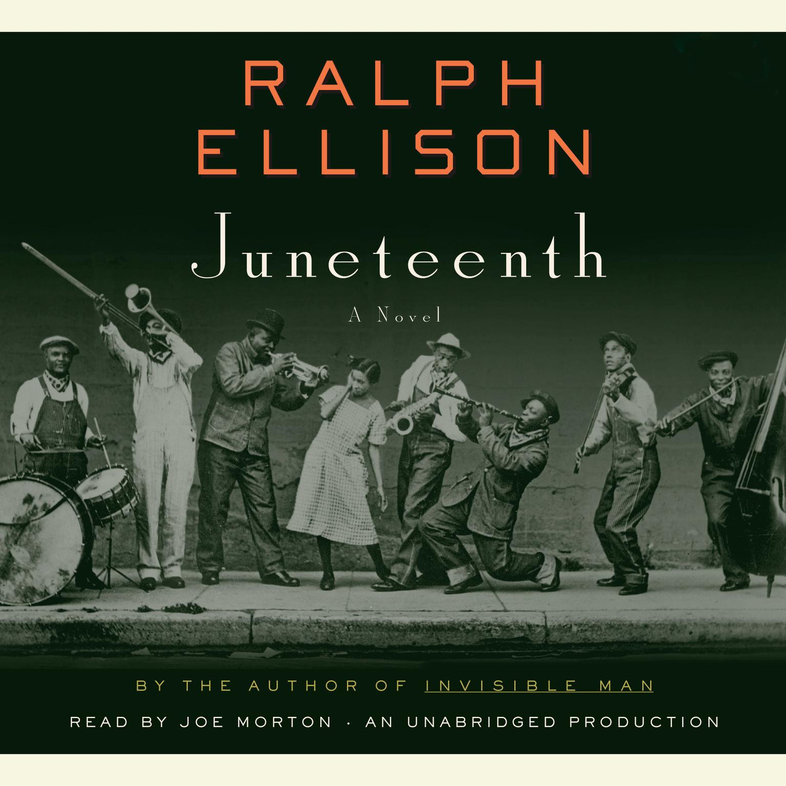 Printable Juneteenth: A Novel Audiobook Cover Art