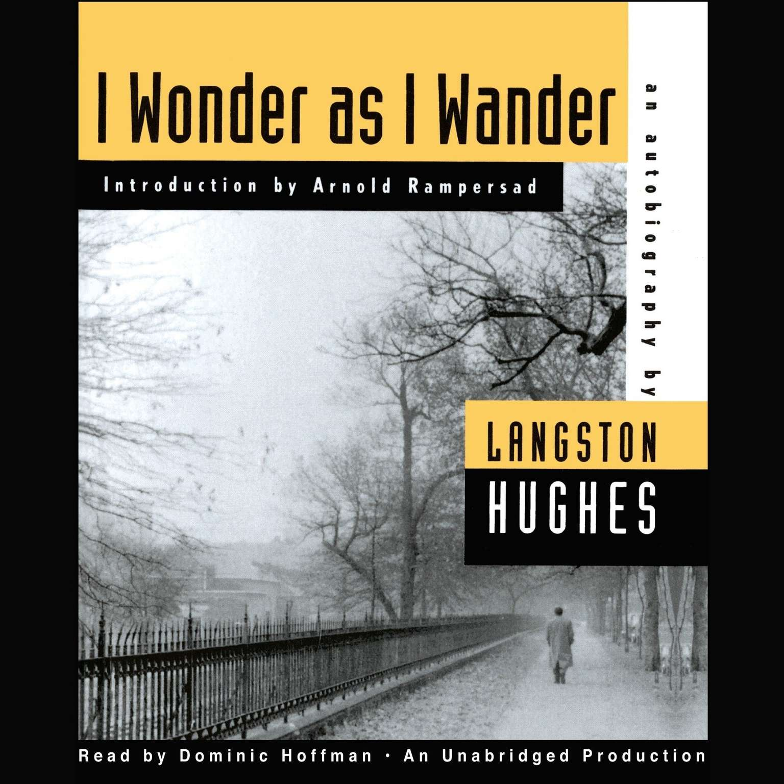 Printable I Wonder as I Wander: An Autobiographical Journey Audiobook Cover Art