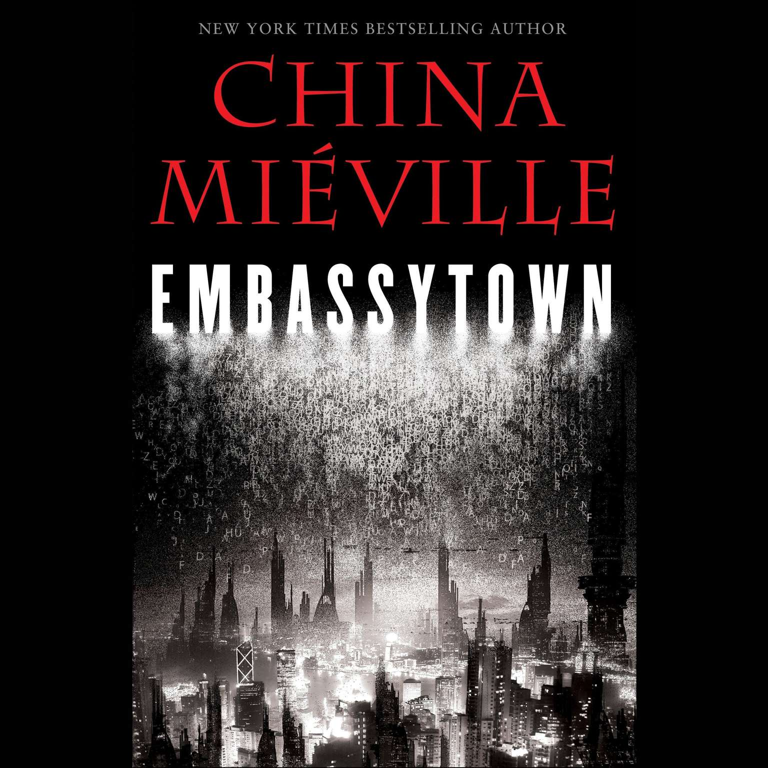 Printable Embassytown Audiobook Cover Art