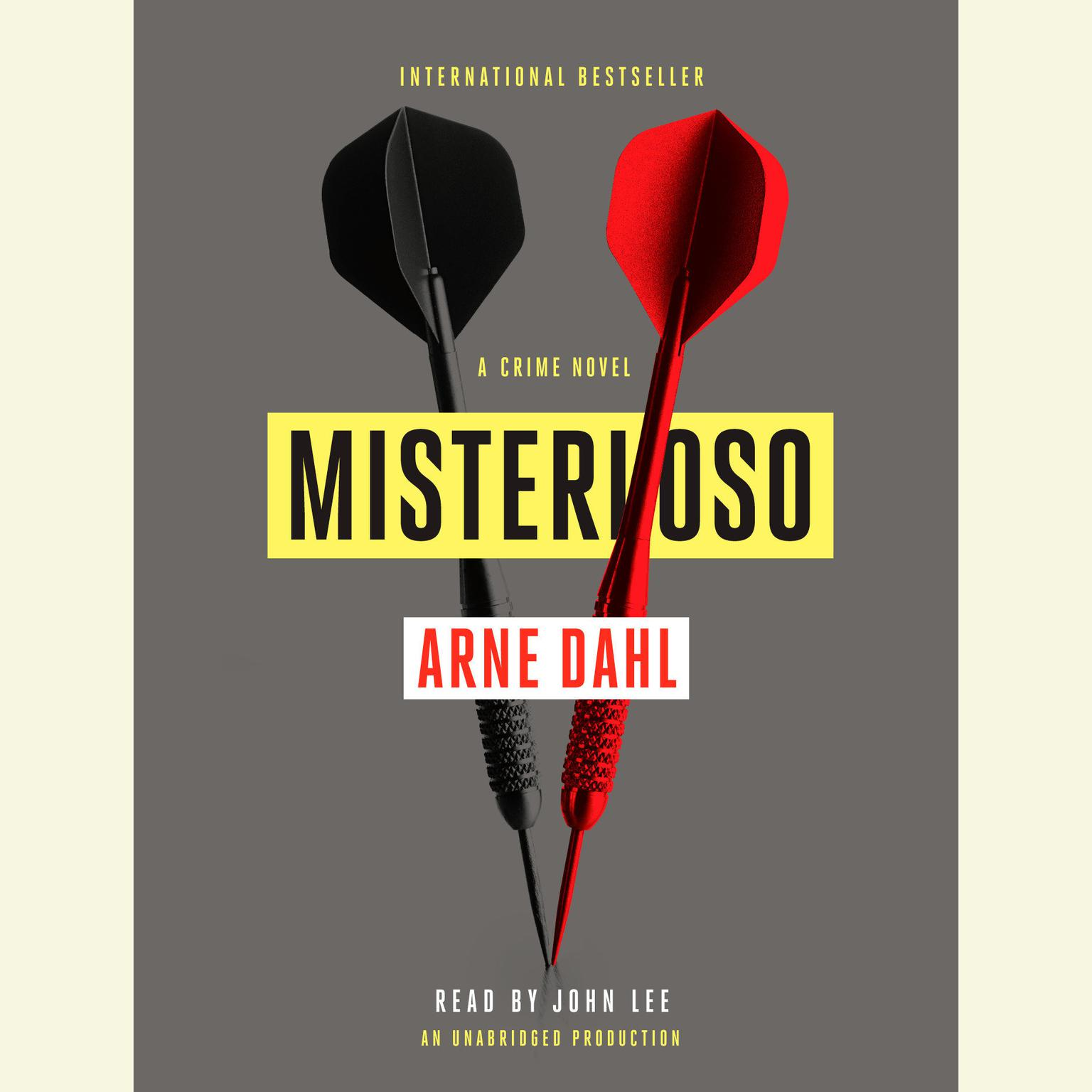 Printable Misterioso: A Crime Novel Audiobook Cover Art