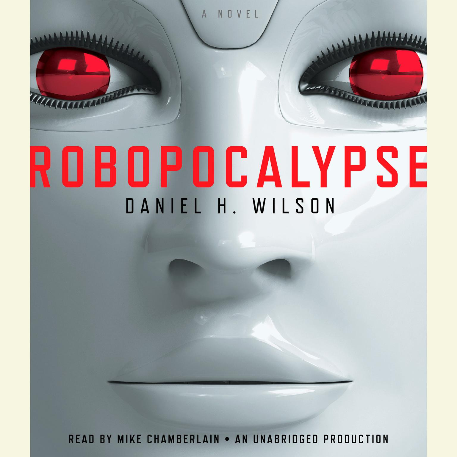 Printable Robopocalypse: A Novel Audiobook Cover Art
