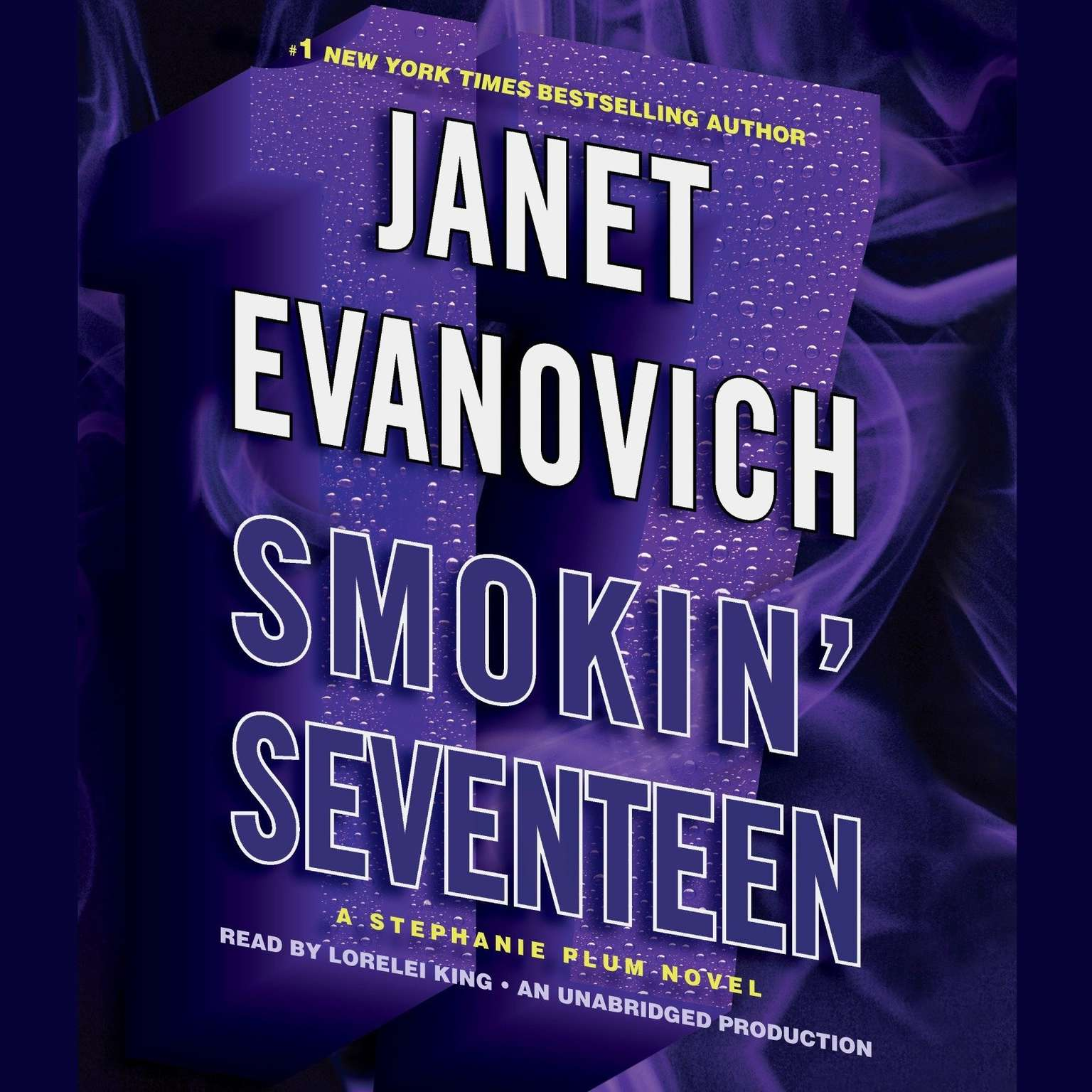 Printable Smokin' Seventeen: A Stephanie Plum Novel Audiobook Cover Art