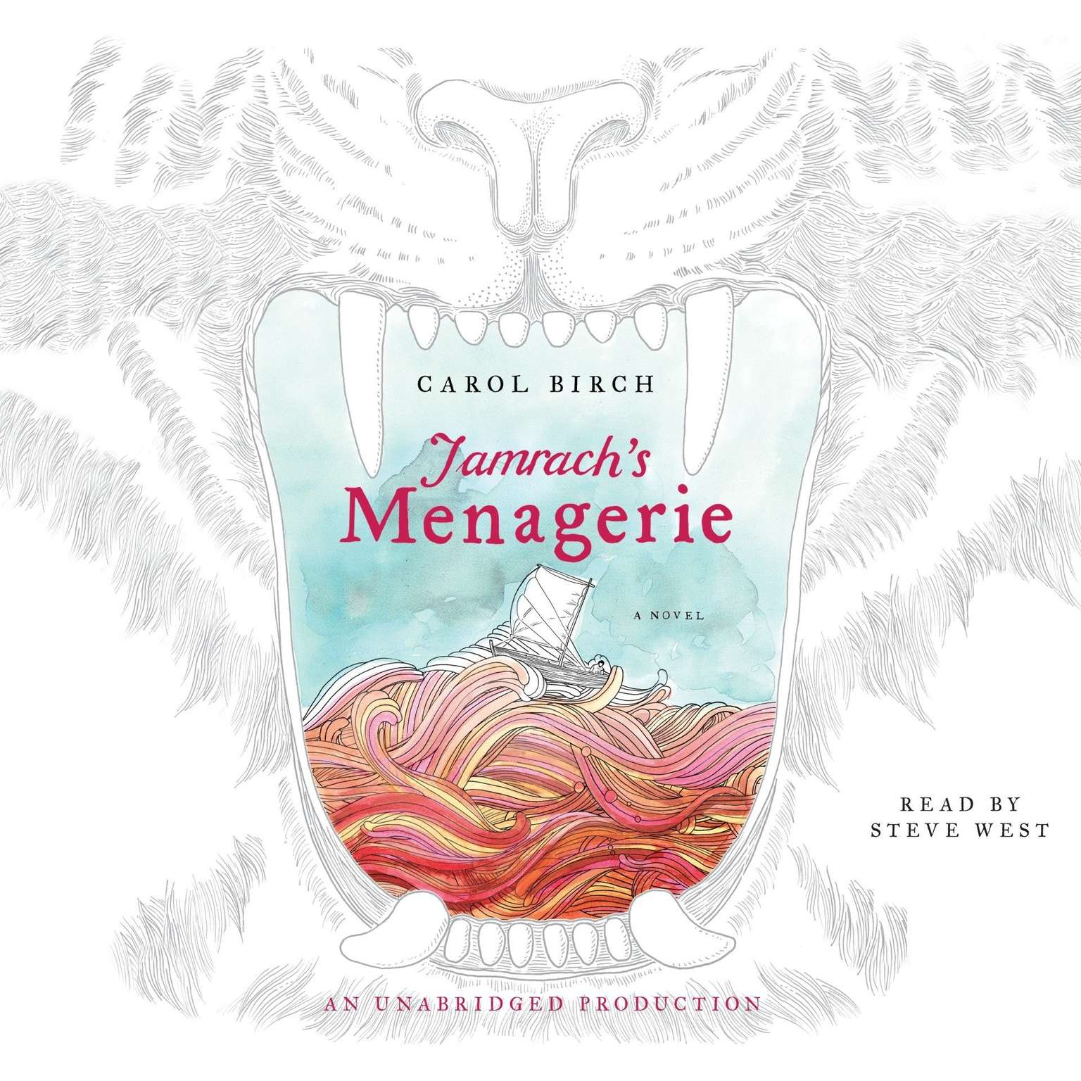 Printable Jamrach's Menagerie: A Novel Audiobook Cover Art