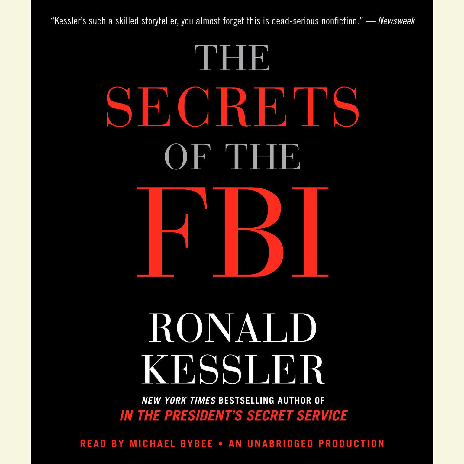 Printable The Secrets of the FBI Audiobook Cover Art