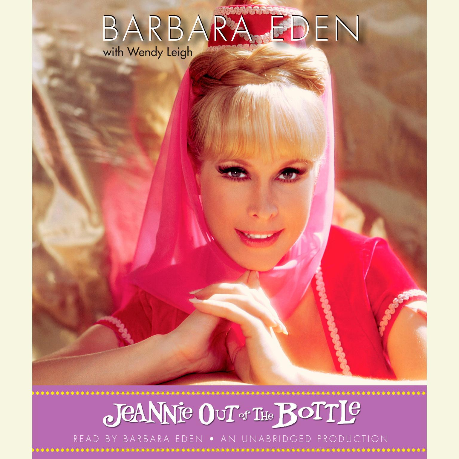 Printable Jeannie Out of the Bottle Audiobook Cover Art
