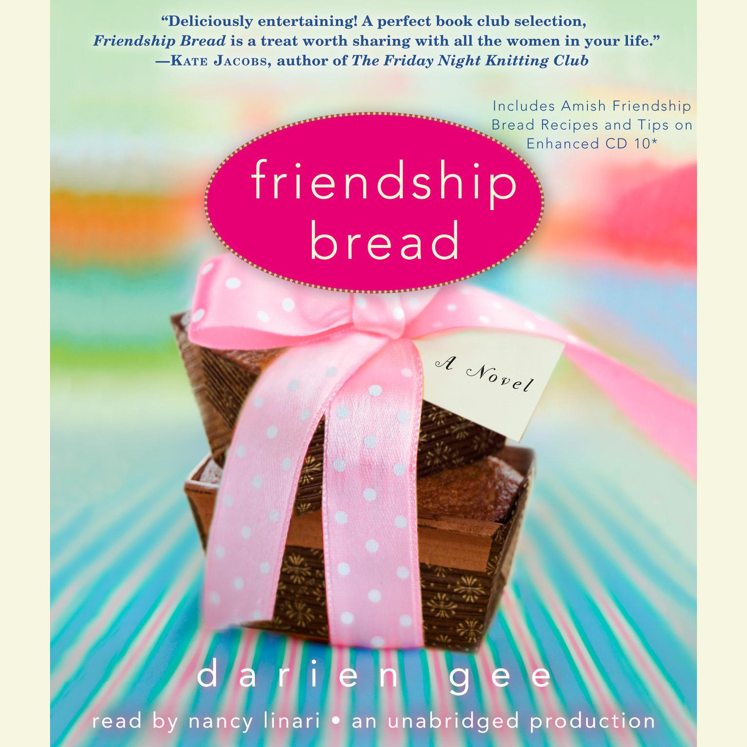 Printable Friendship Bread: A Novel Audiobook Cover Art