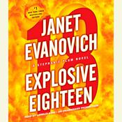 Explosive Eighteen: A Stephanie Plum Novel Audiobook, by Janet Evanovich