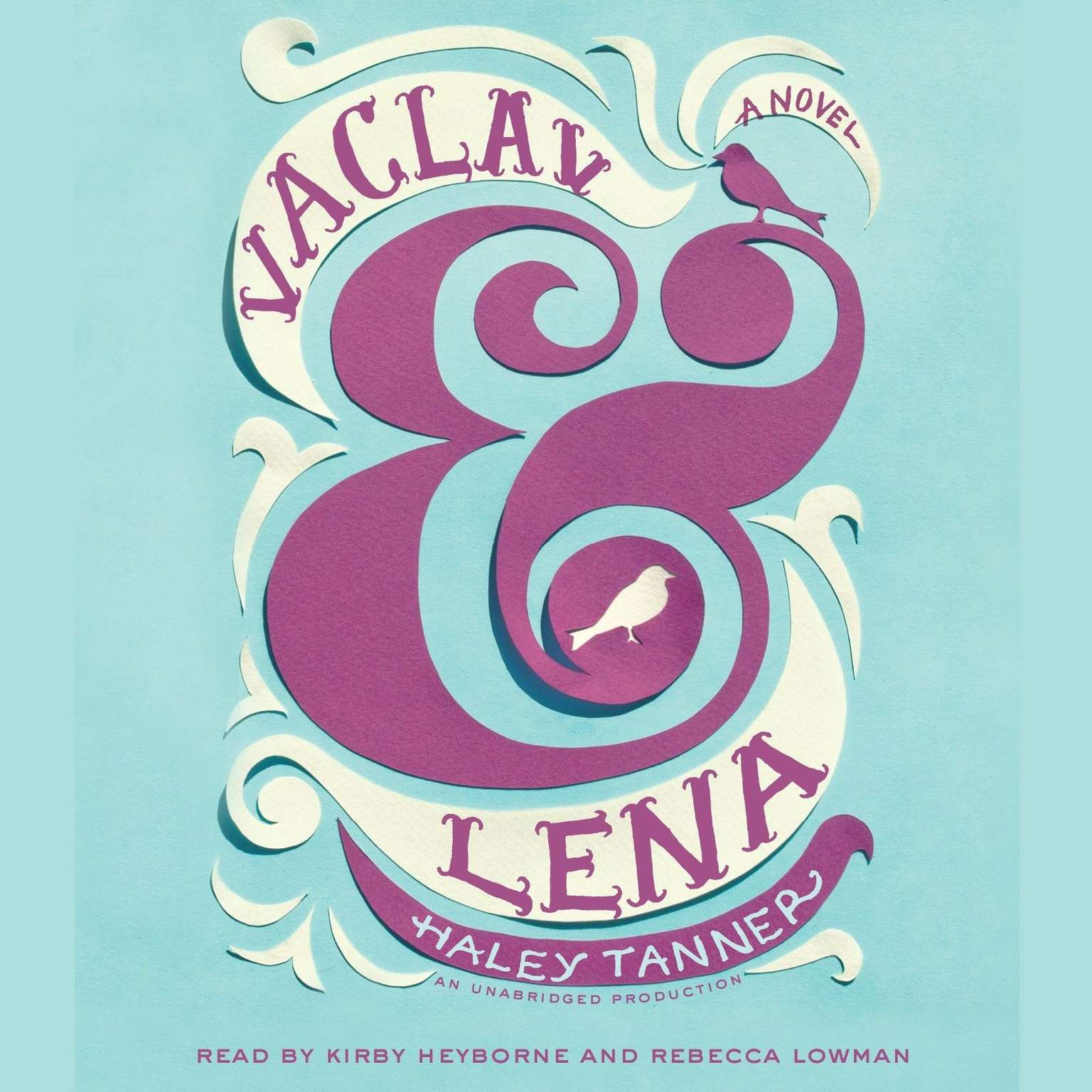 Printable Vaclav & Lena: A Novel Audiobook Cover Art