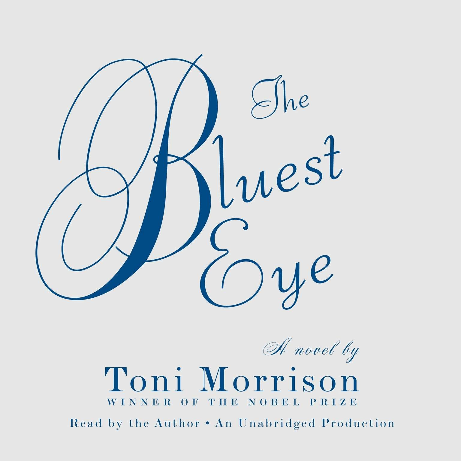 Printable The Bluest Eye: A Novel Audiobook Cover Art