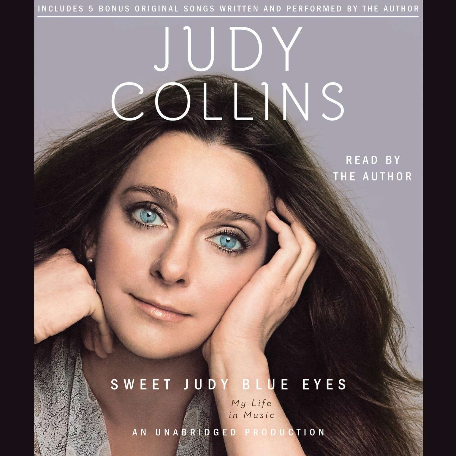 Printable Sweet Judy Blue Eyes: My Life in Music Audiobook Cover Art