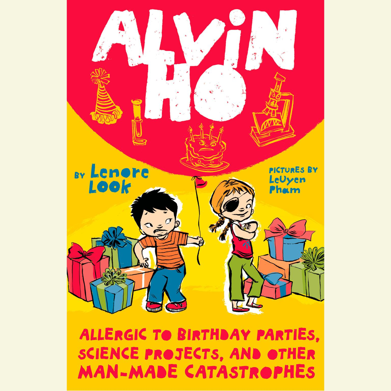 Printable Alvin Ho: Allergic to Birthday Parties, Science Projects, and Other Man-made Catastrophes Audiobook Cover Art