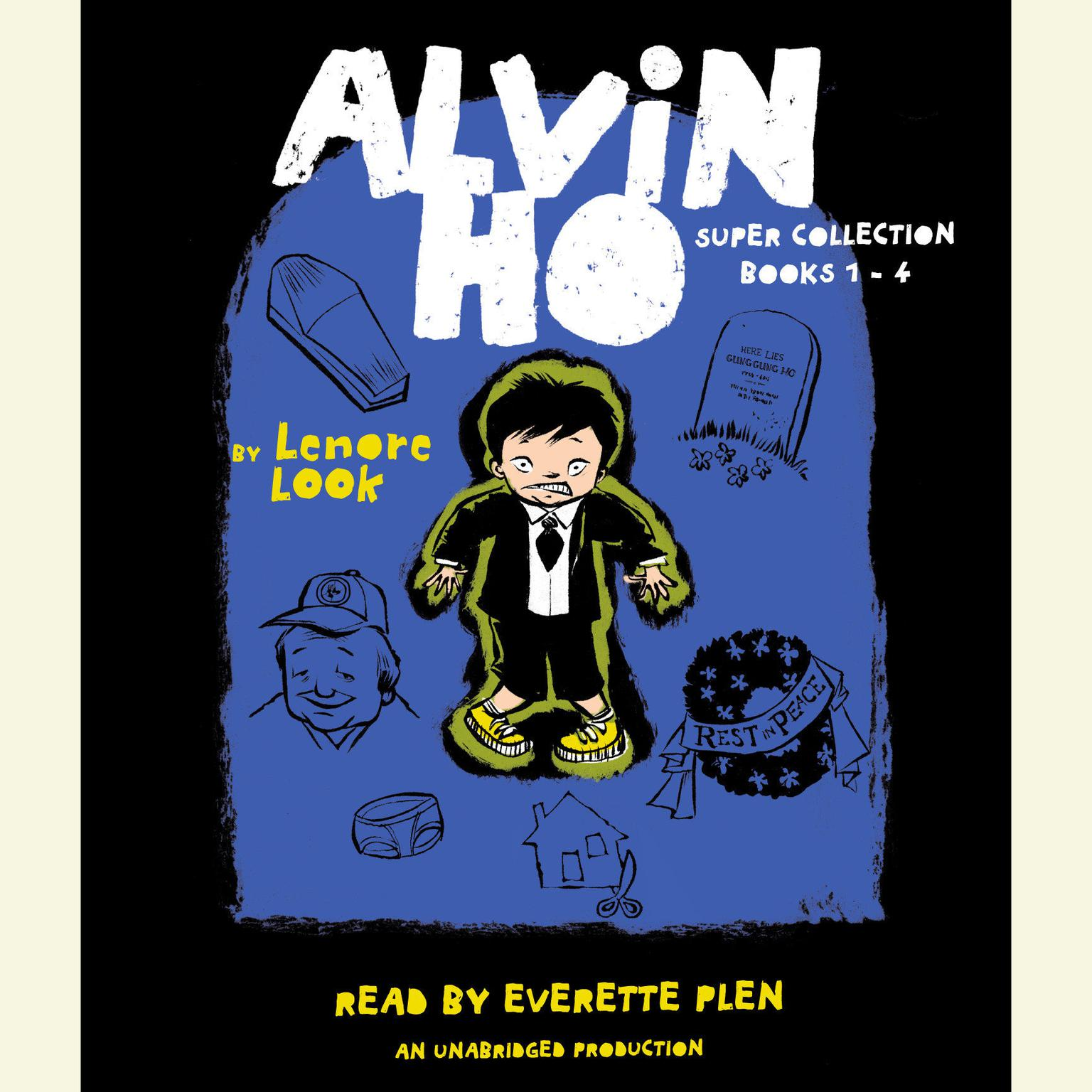 Printable The Alvin Ho Super Collection: Books 1-4 Audiobook Cover Art