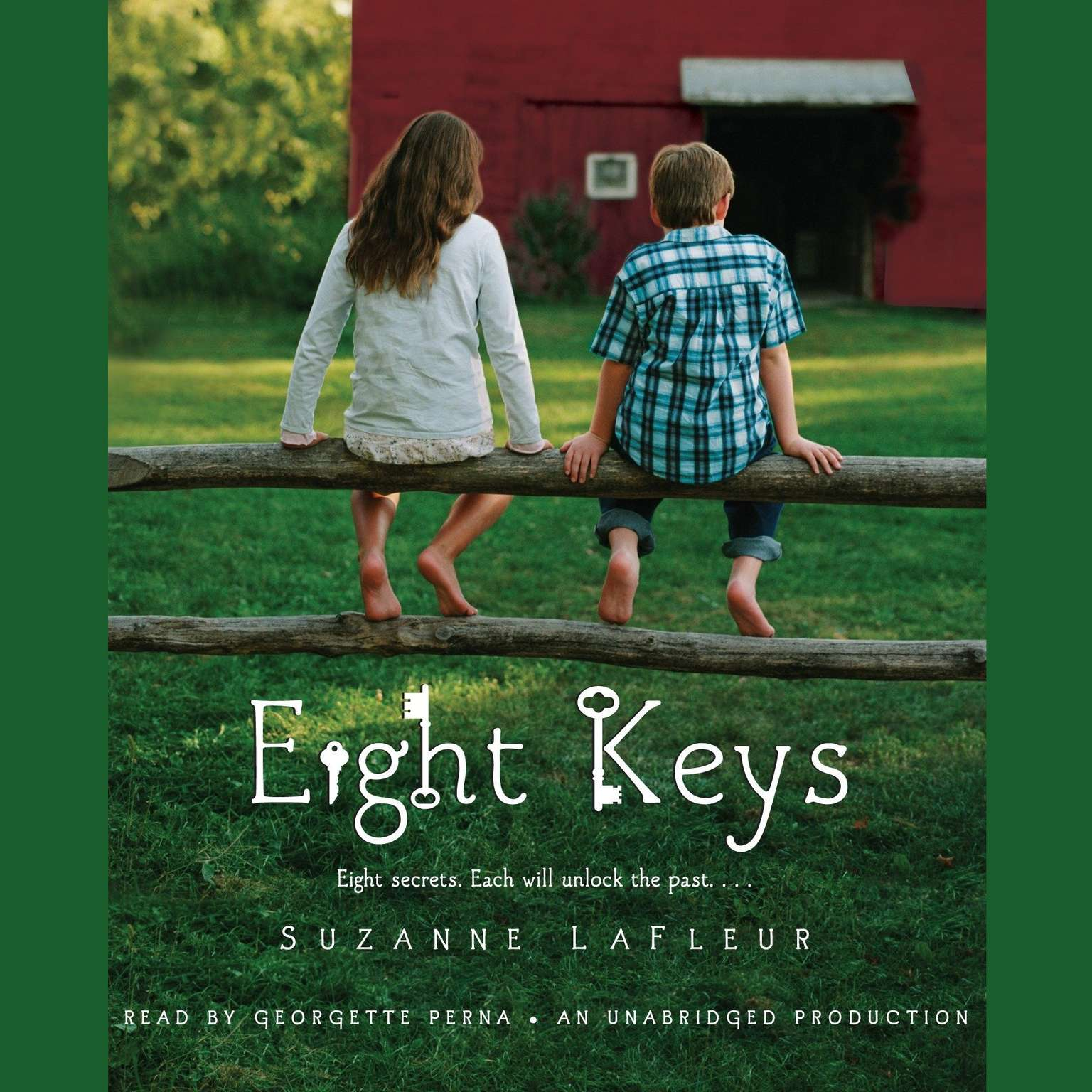 Printable Eight Keys Audiobook Cover Art