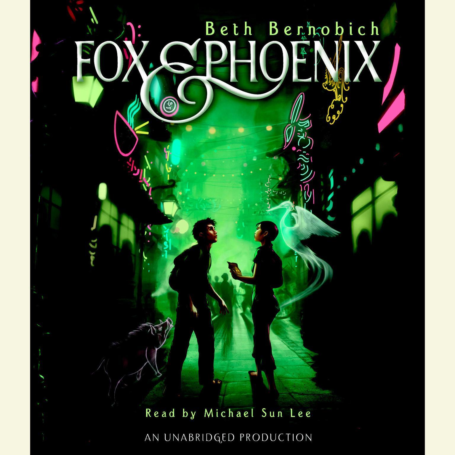 Printable Fox and Phoenix Audiobook Cover Art