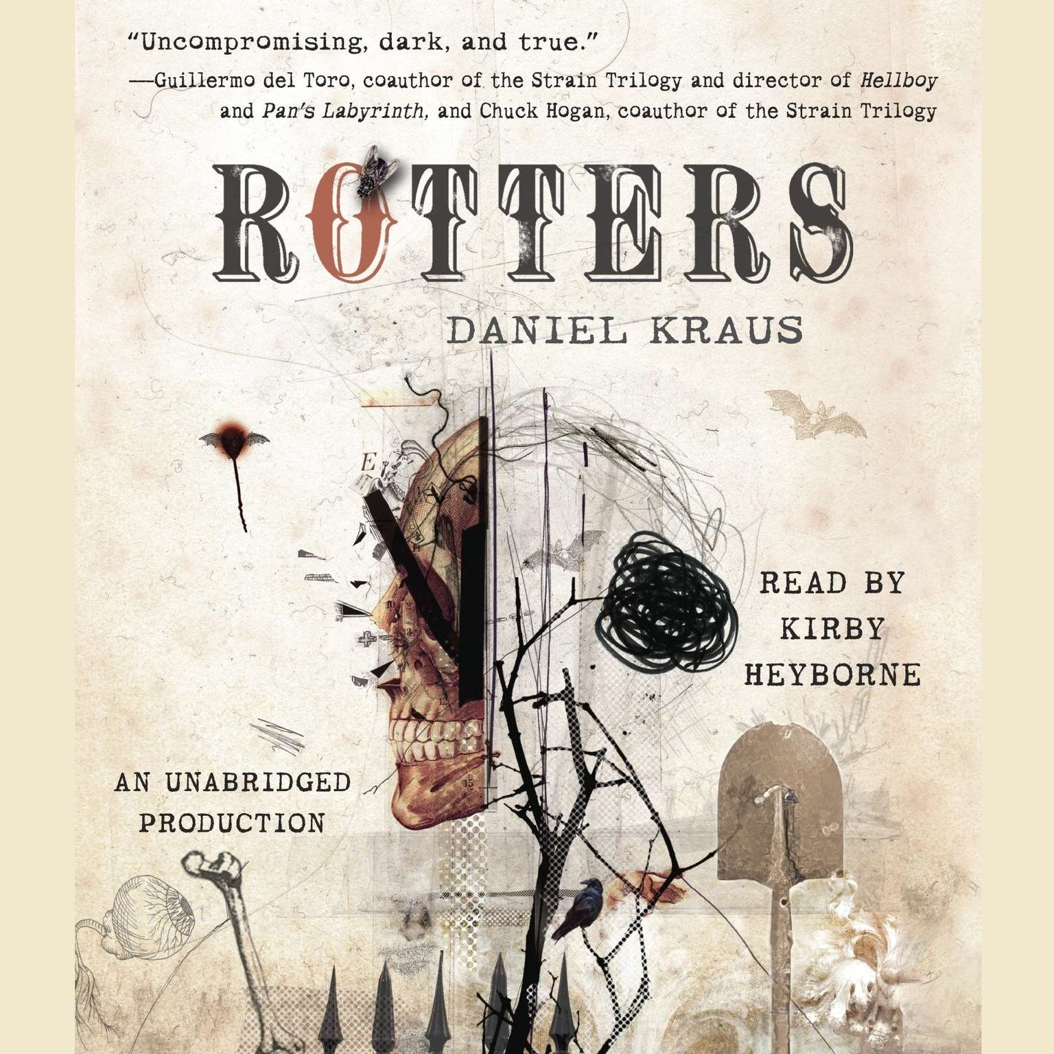 Printable Rotters Audiobook Cover Art
