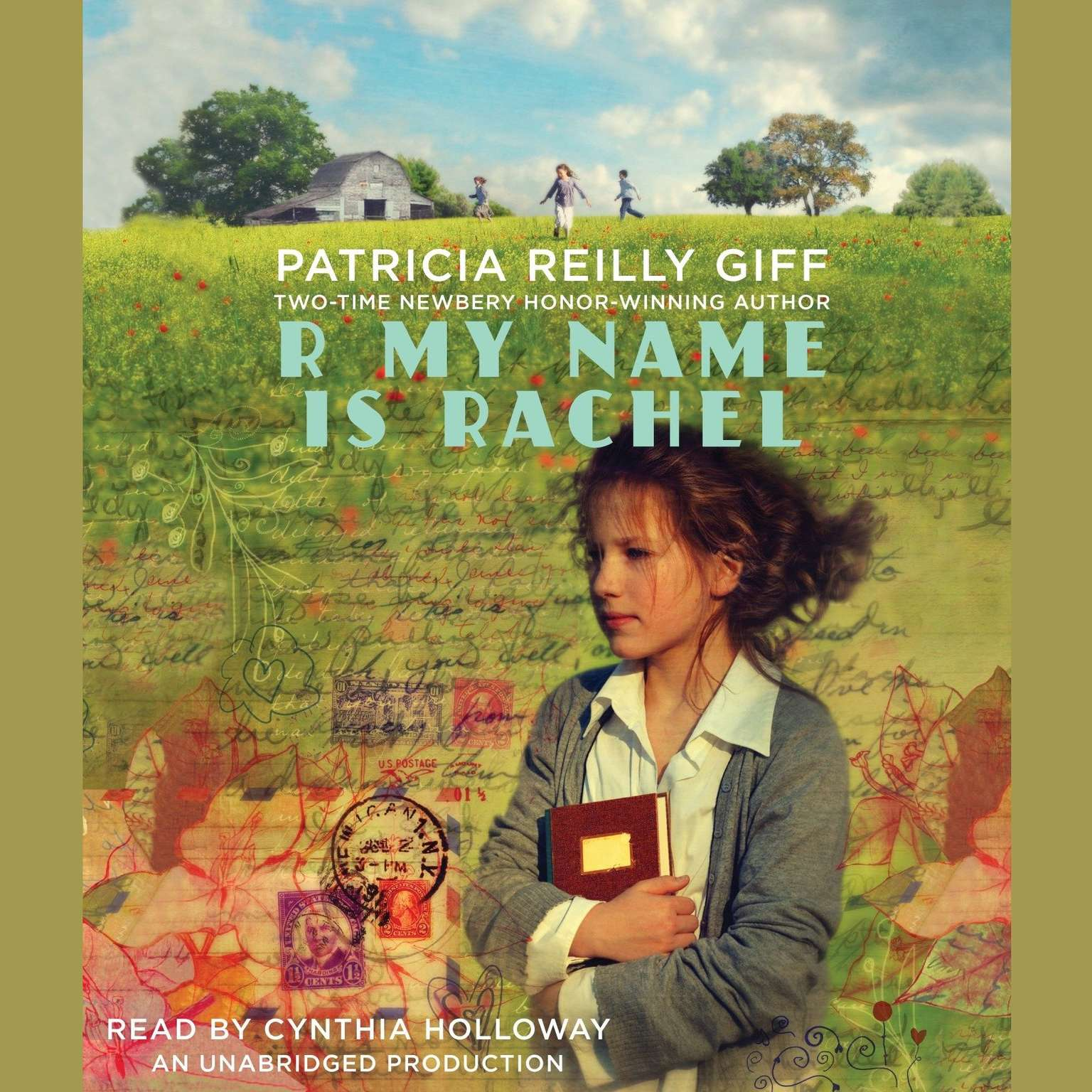 Printable R My Name is Rachel Audiobook Cover Art