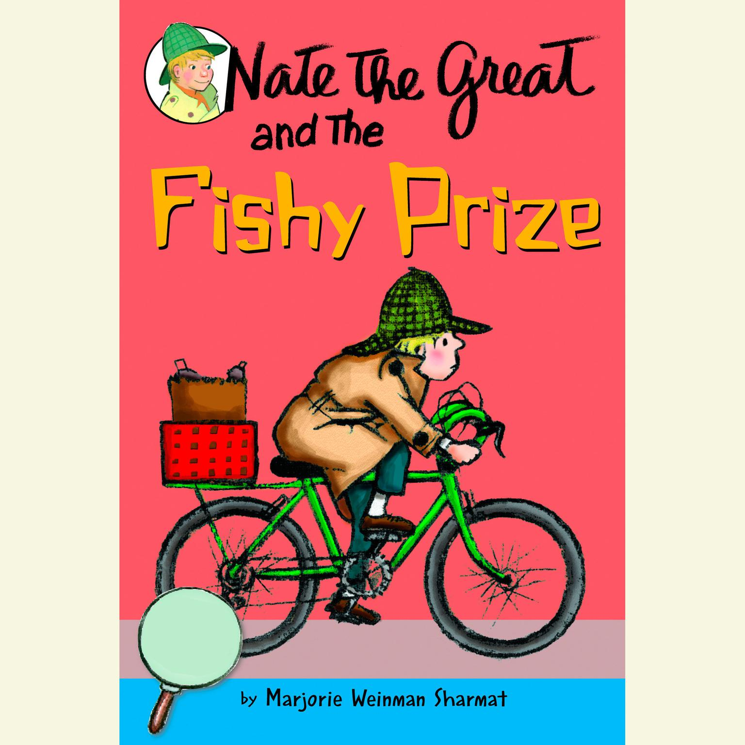 Printable Nate the Great and the Fishy Prize Audiobook Cover Art