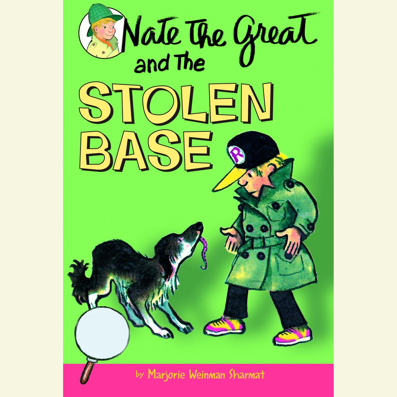 Printable Nate the Great and the Stolen Base Audiobook Cover Art