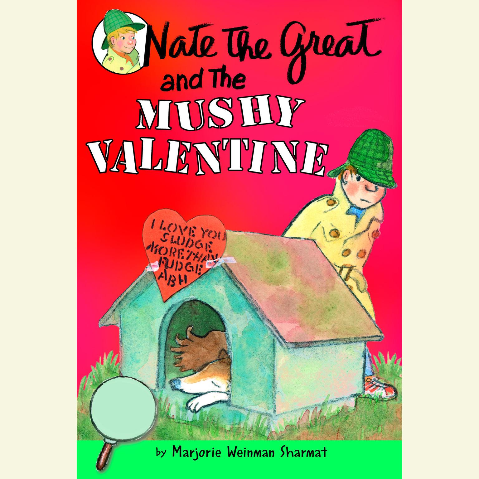 Printable Nate the Great and the Mushy Valentine Audiobook Cover Art