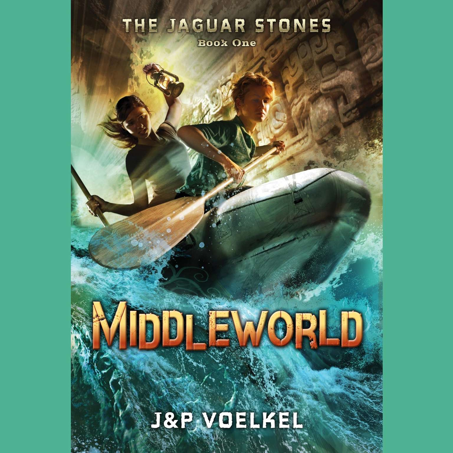 Printable Middleworld Audiobook Cover Art