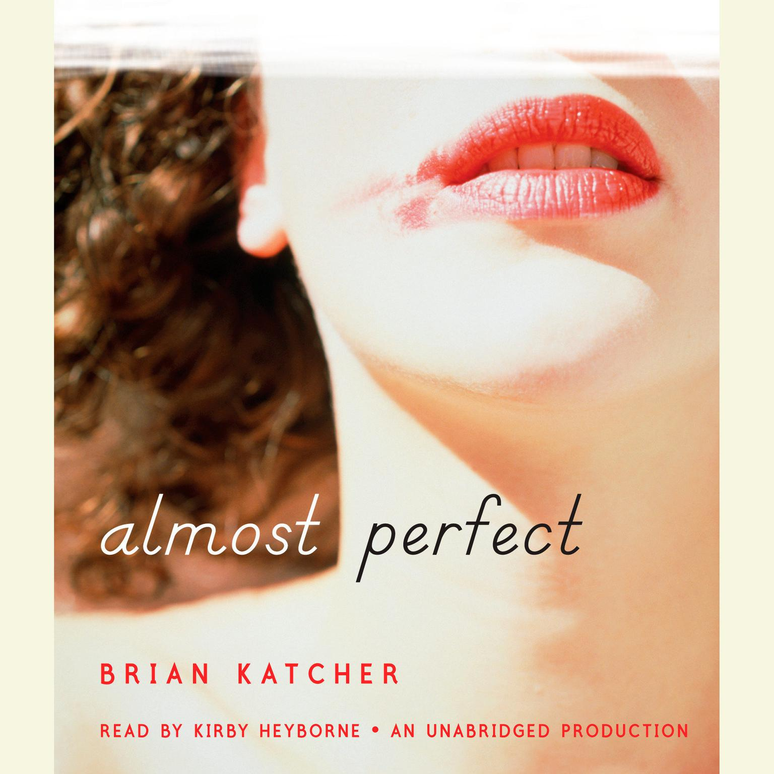 Printable Almost Perfect Audiobook Cover Art