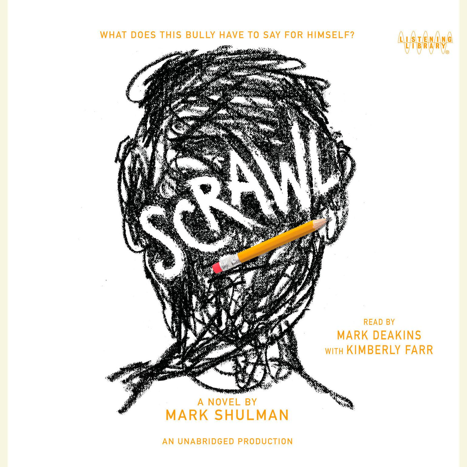 Printable Scrawl Audiobook Cover Art