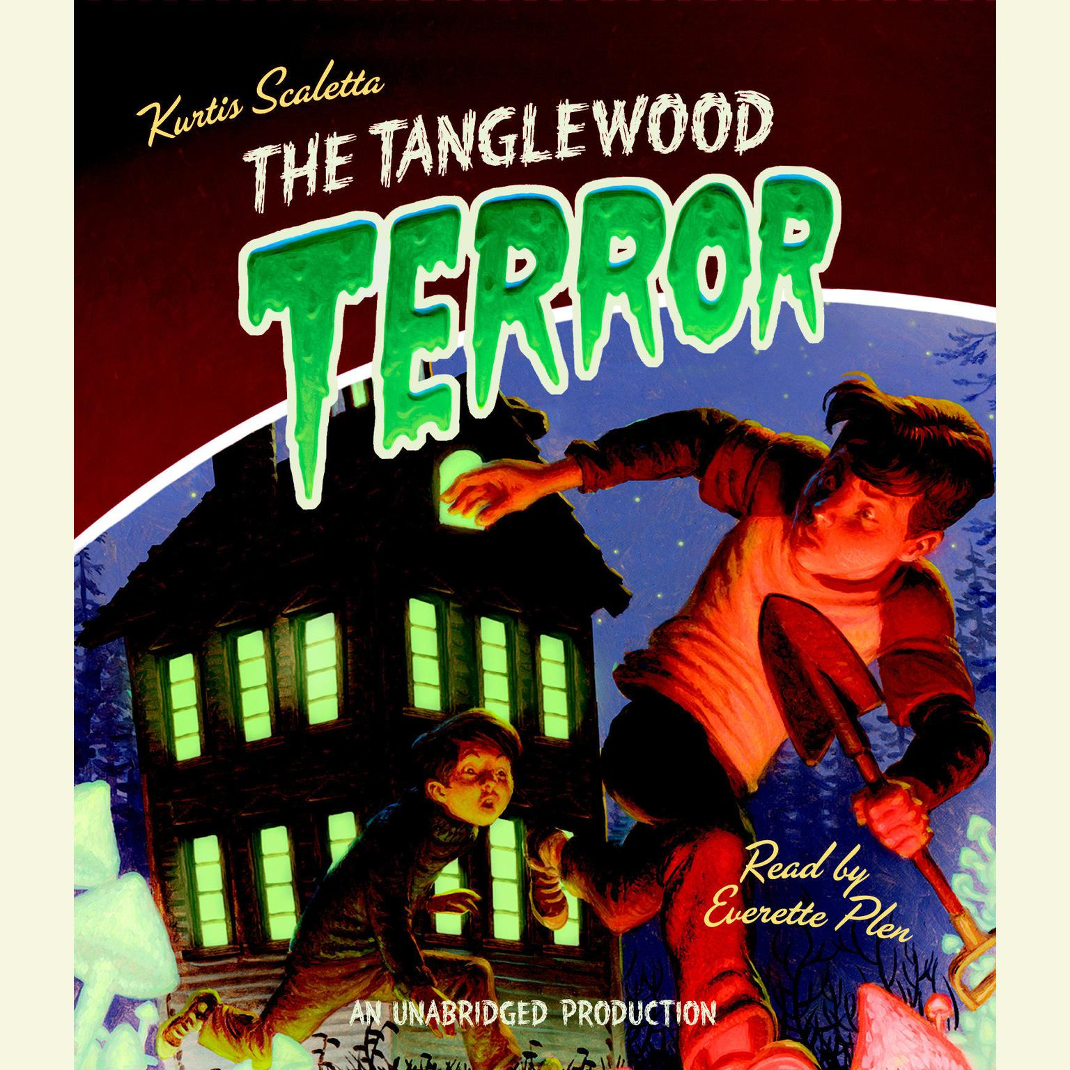 Printable The Tanglewood Terror Audiobook Cover Art