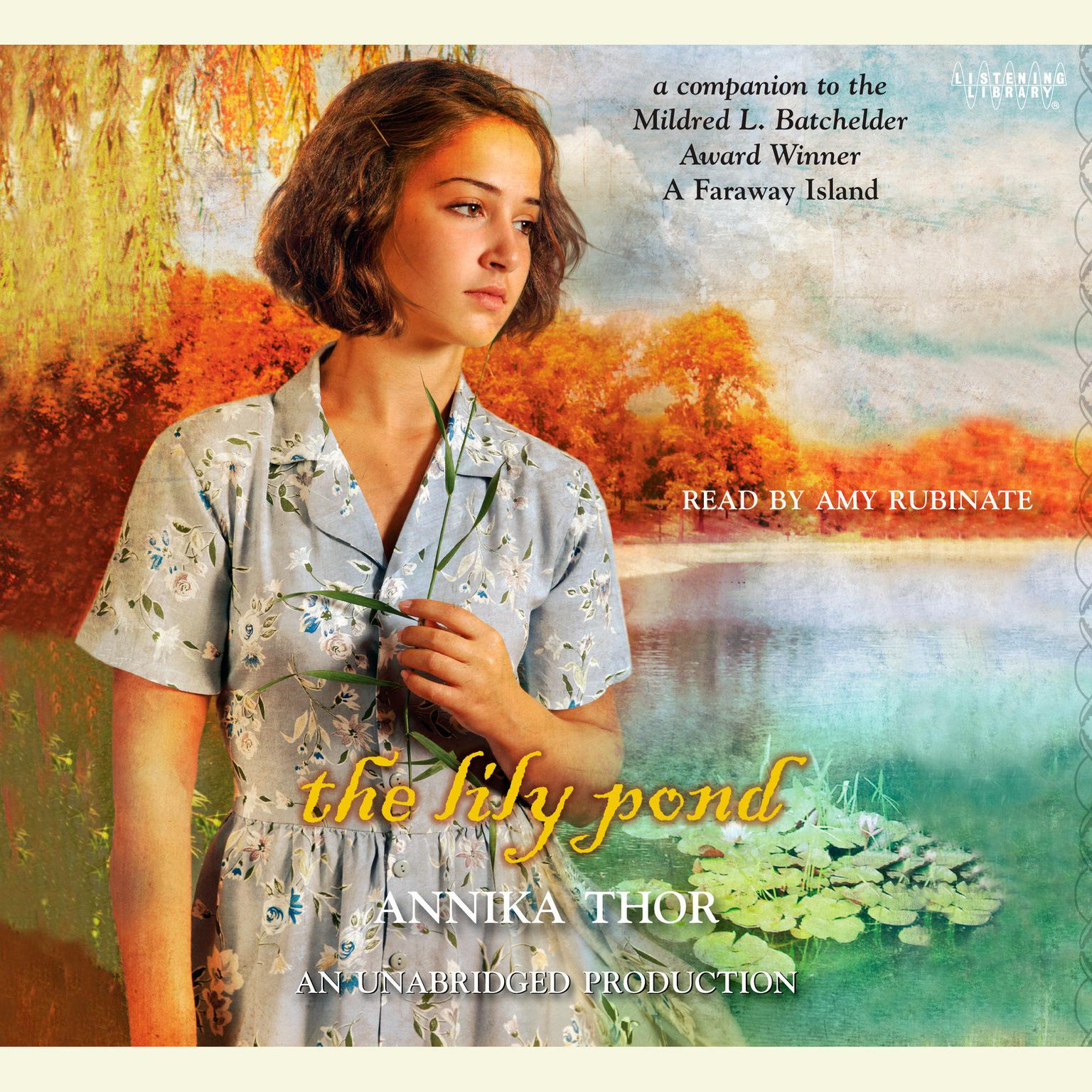 Printable The Lily Pond Audiobook Cover Art