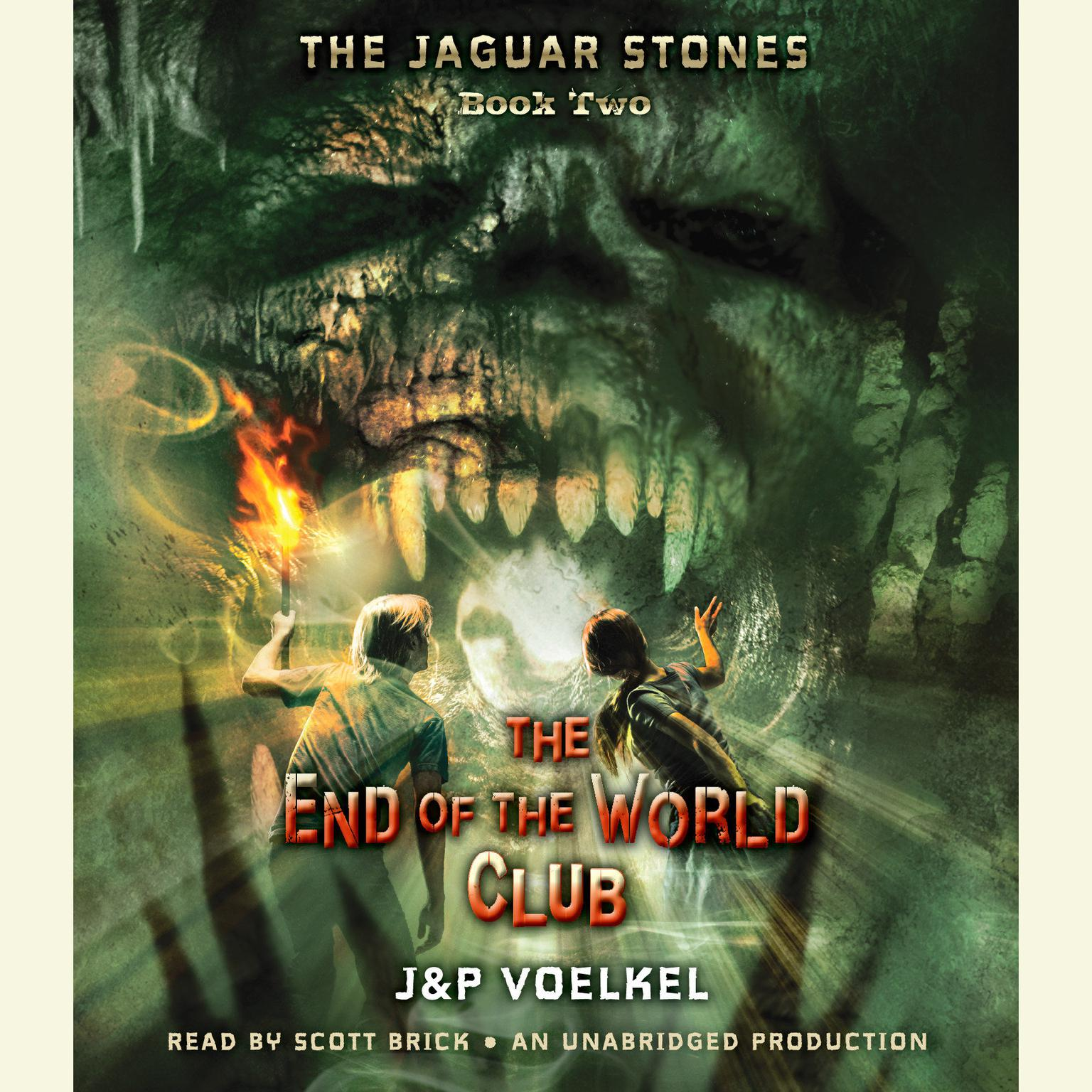Printable The Jaguar Stones, Book Two: The End of the World Club Audiobook Cover Art