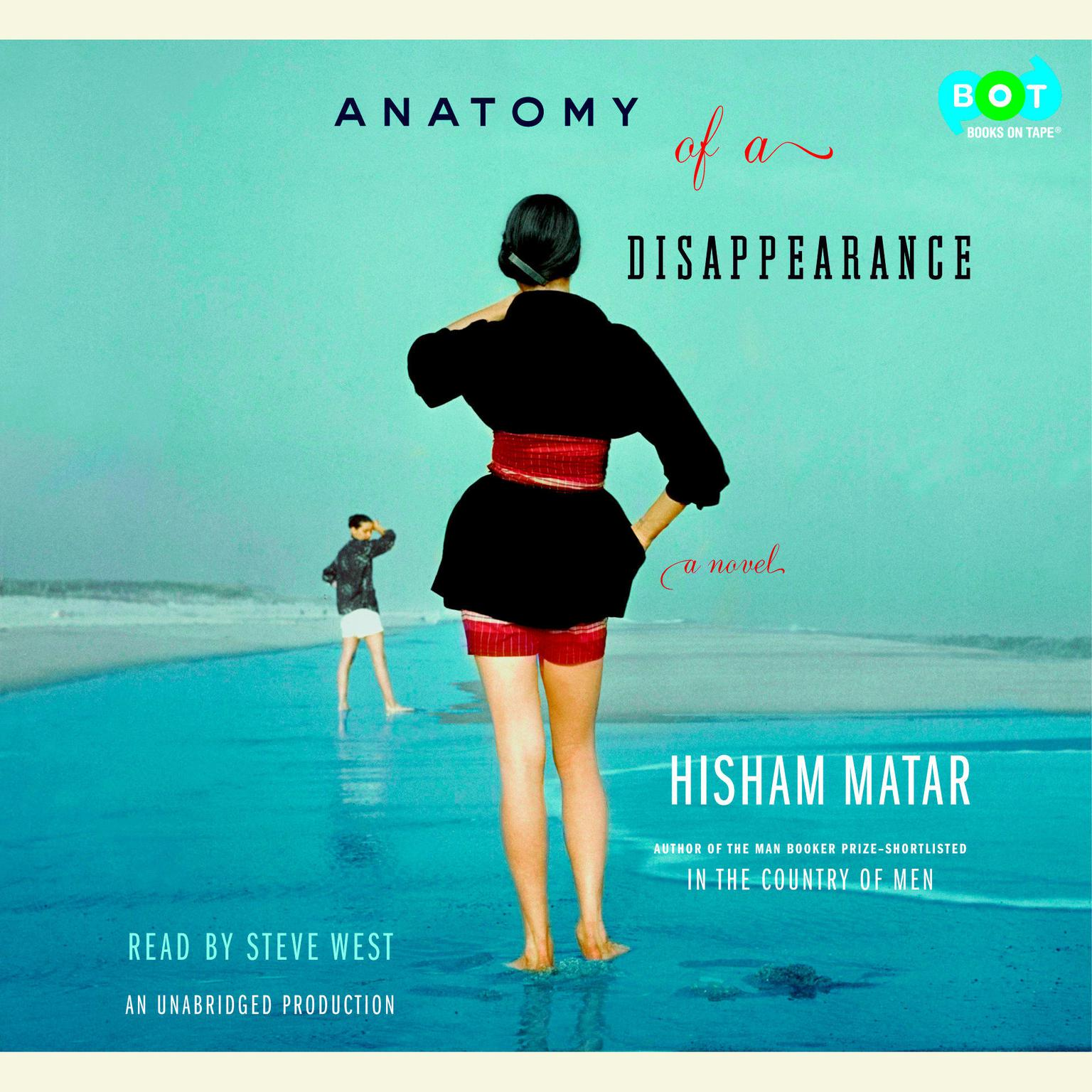 Printable Anatomy of a Disappearance: A Novel Audiobook Cover Art