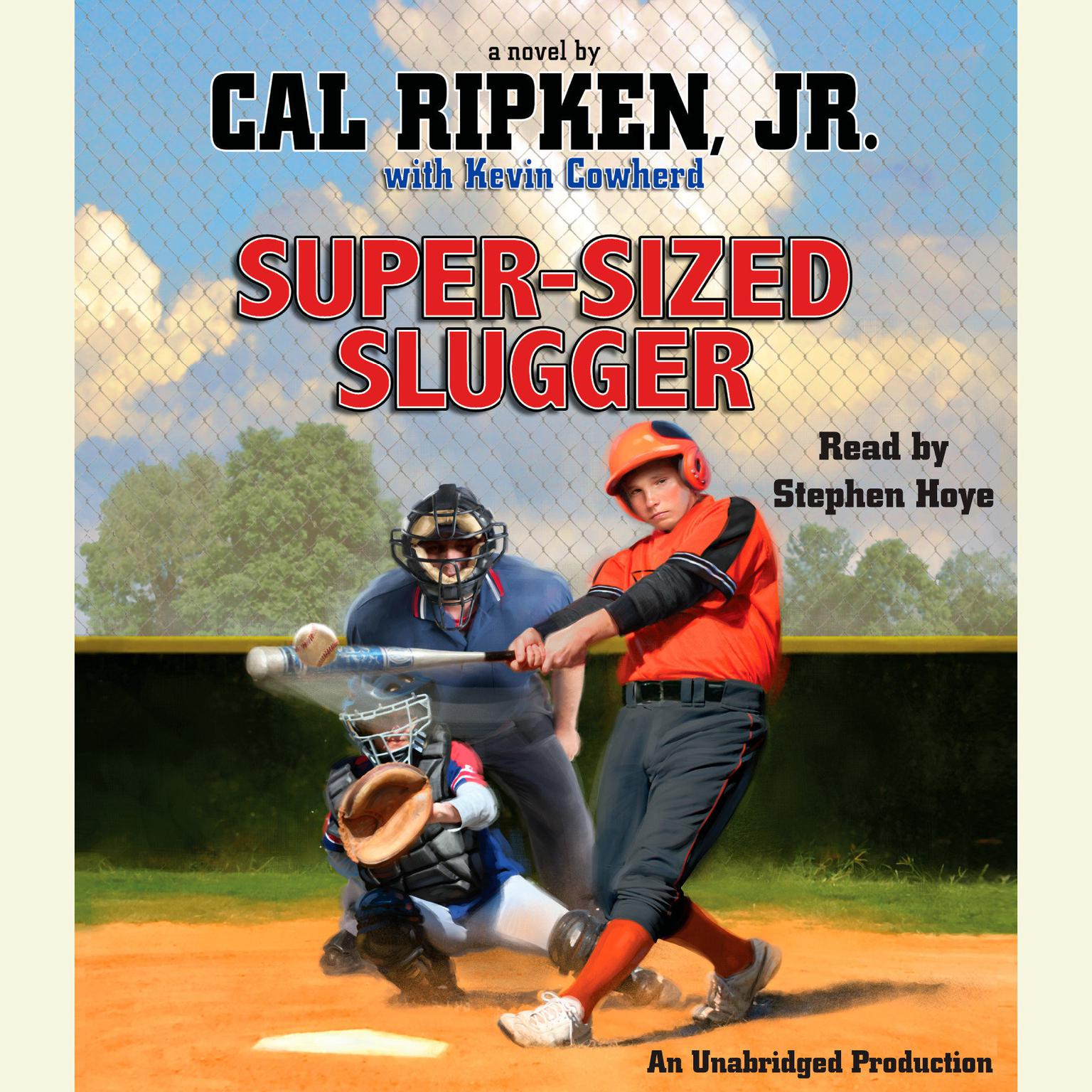 Printable Super-Sized Slugger Audiobook Cover Art