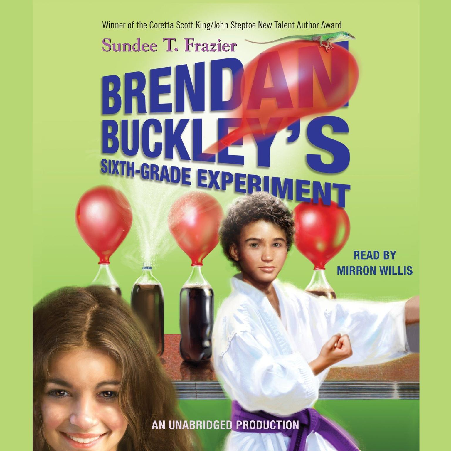 Printable Brendan Buckley's Sixth-Grade Experiment Audiobook Cover Art