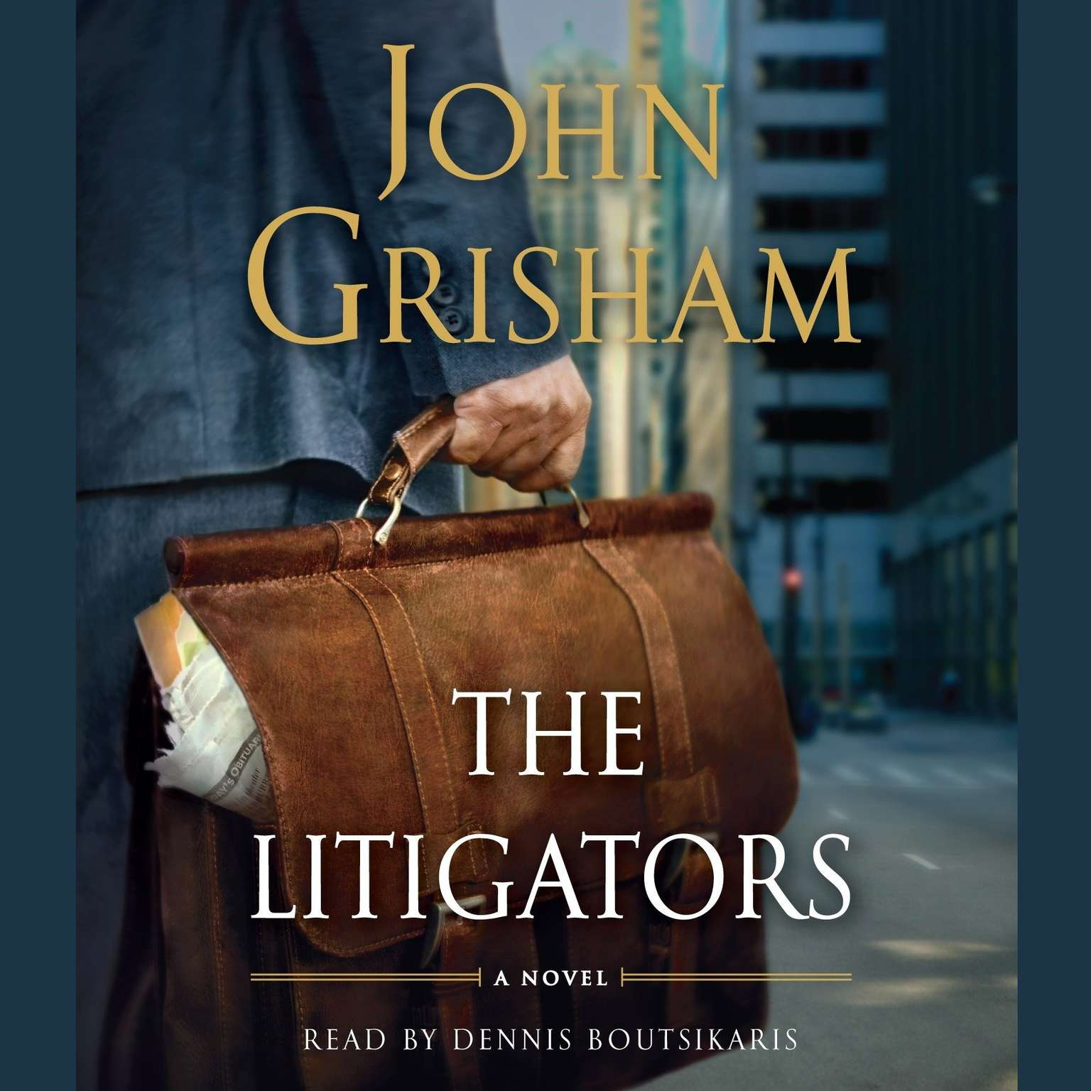 Printable The Litigators Audiobook Cover Art