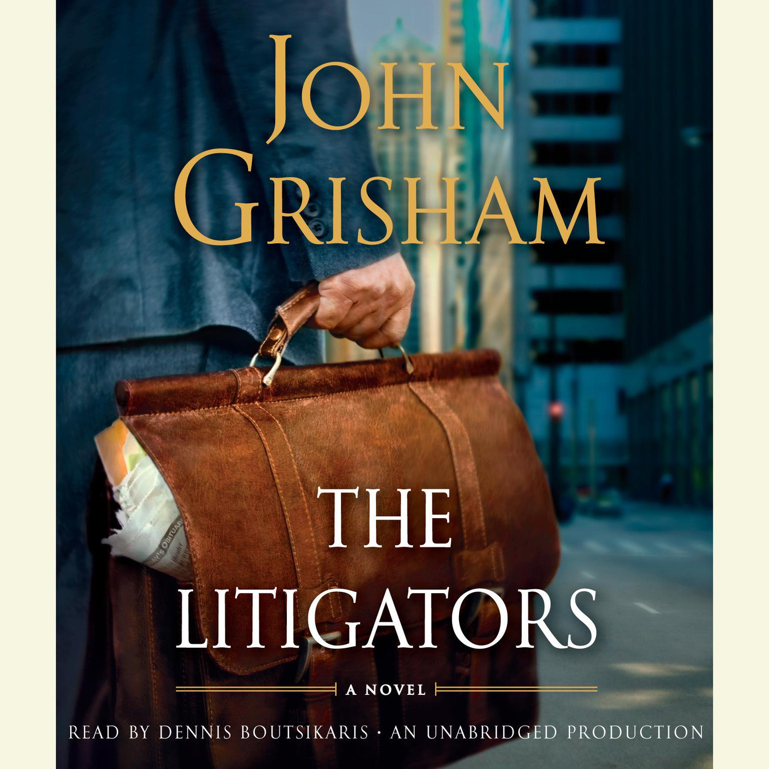 Printable The Litigators: A Novel Audiobook Cover Art