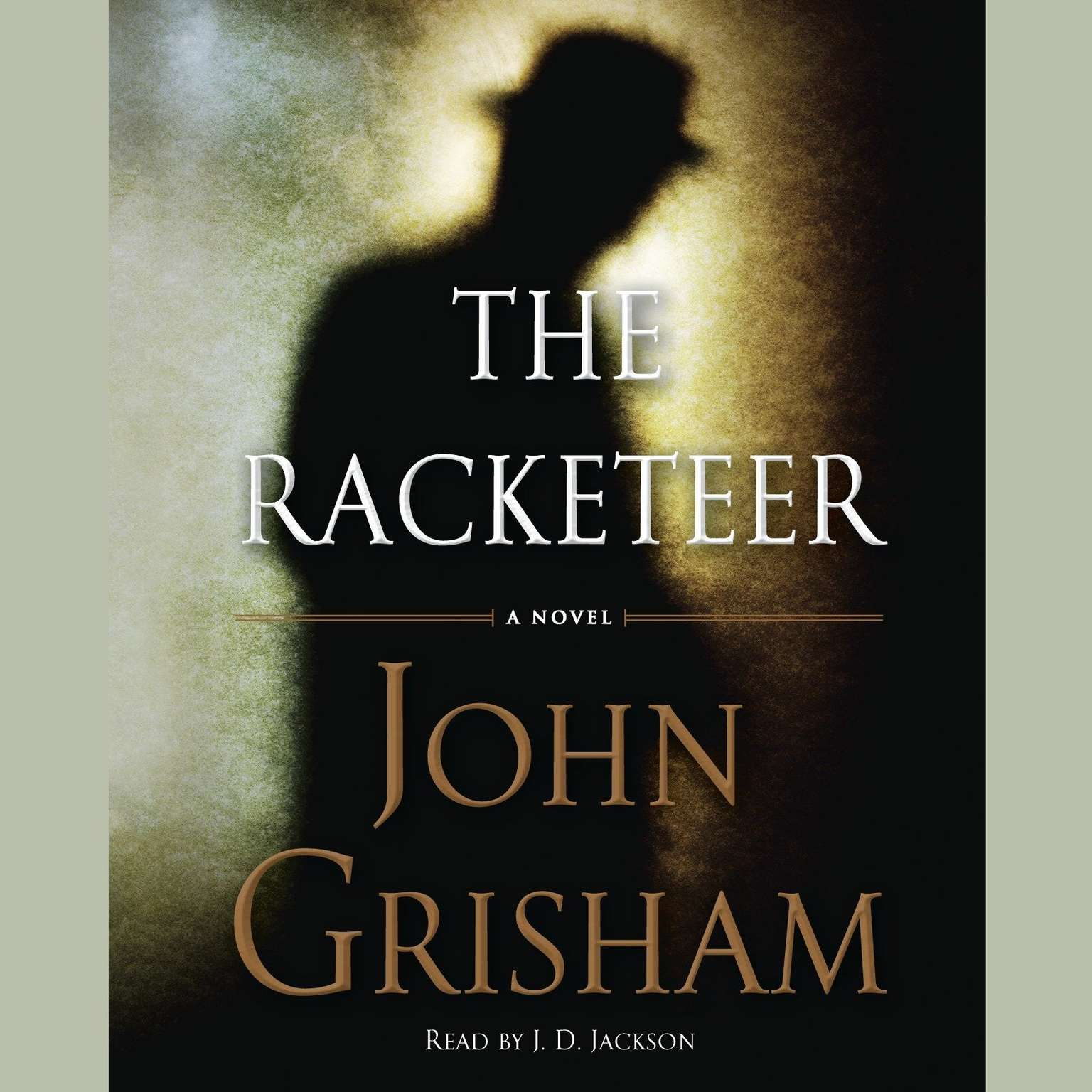 Printable The Racketeer Audiobook Cover Art