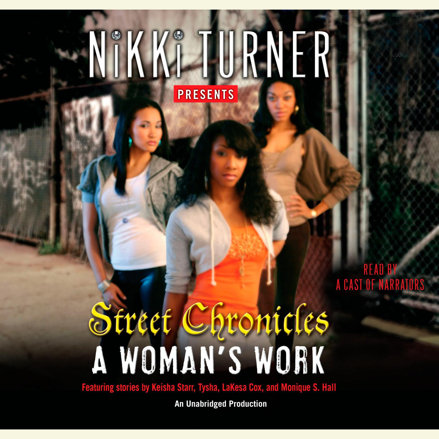 Printable A Woman's Work: Street Chronicles Audiobook Cover Art