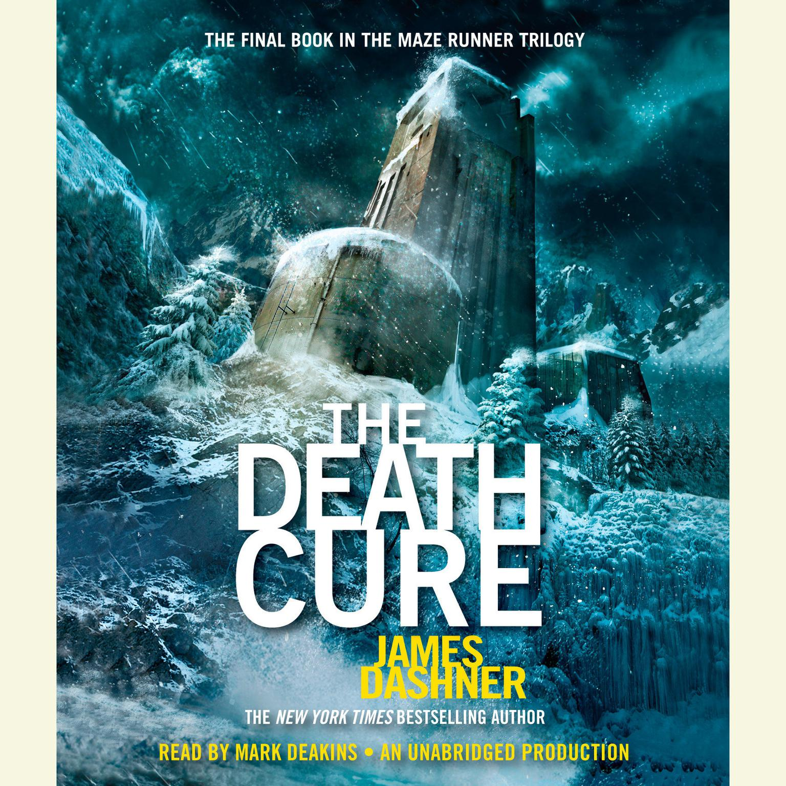 Printable The Death Cure (Maze Runner, Book Three) Audiobook Cover Art