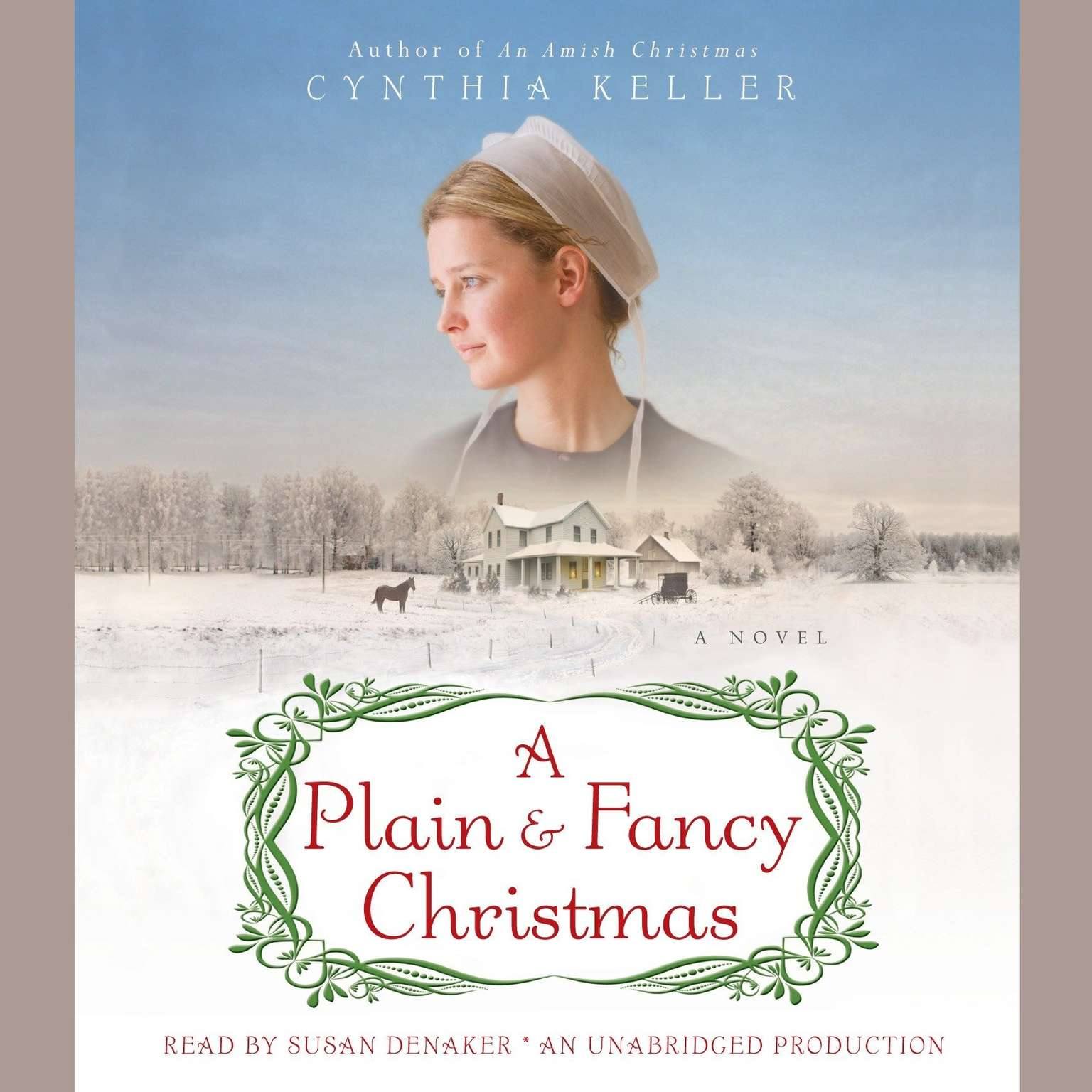 Printable A Plain & Fancy Christmas: A Novel Audiobook Cover Art