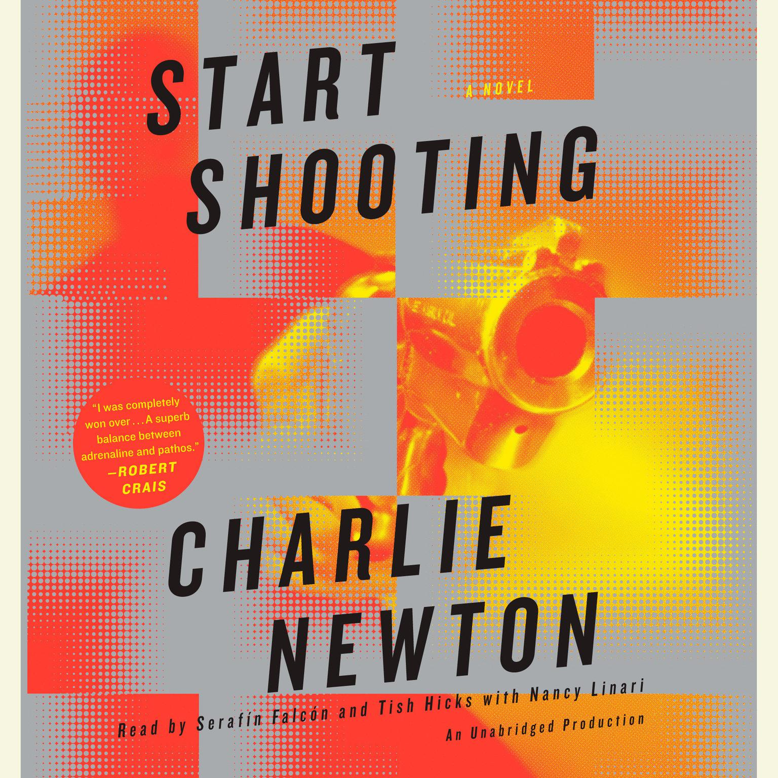 Printable Start Shooting Audiobook Cover Art