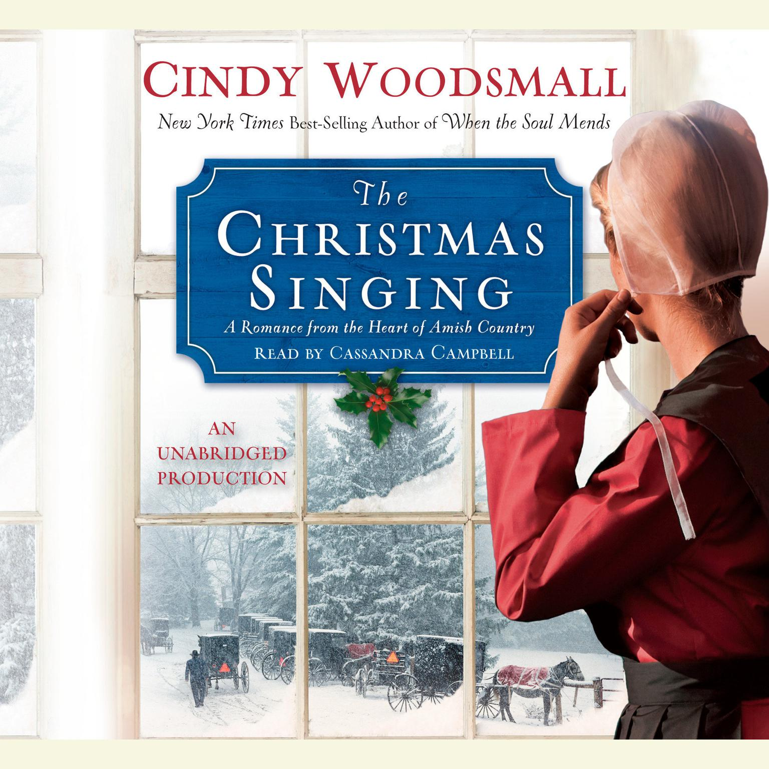 Printable The Christmas Singing: A Romance from the Heart of Amish Country Audiobook Cover Art